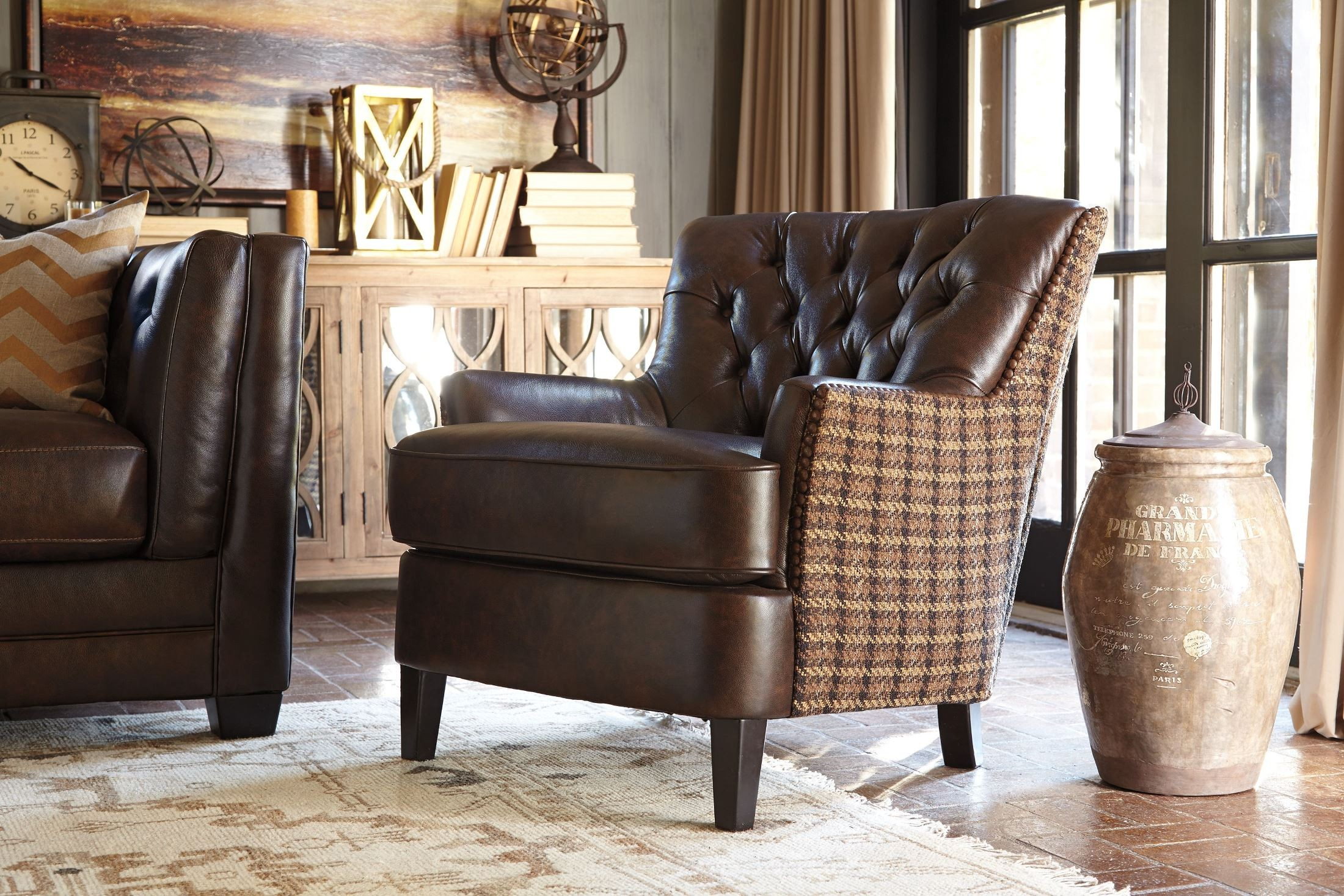 Allenpark Coffee Accent Chair 9250322 Ashley