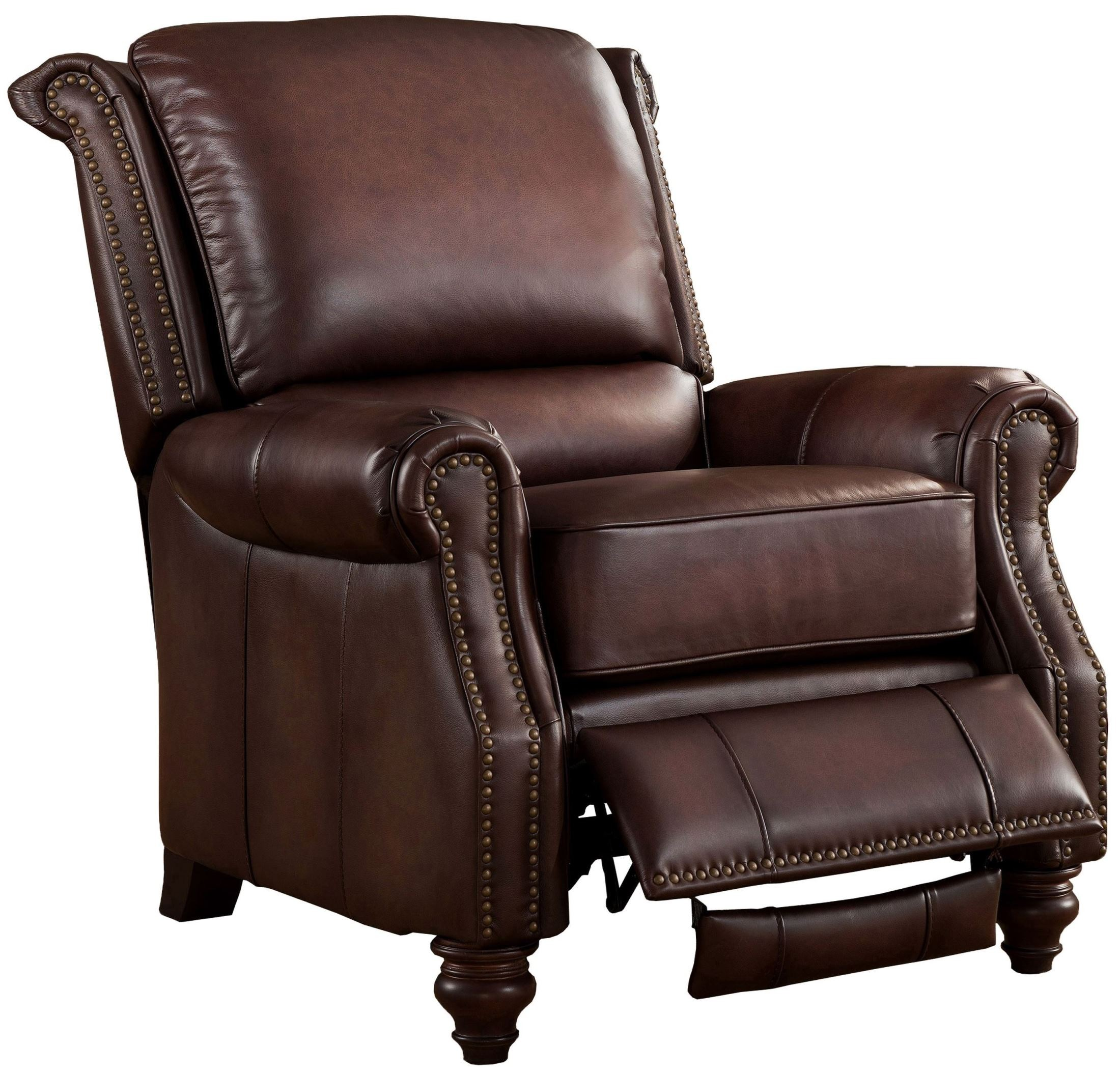 Churchill Brown Leather Recliner Chair From Amax Leather