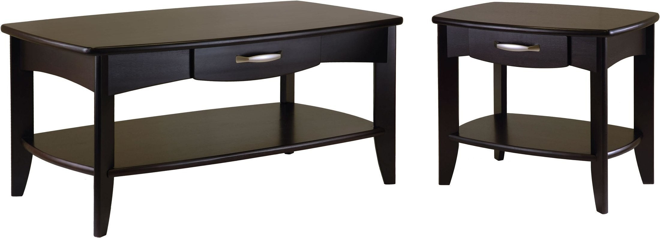 Danica Dark Espresso Occasional Table Set From Winsomewood Coleman Furniture