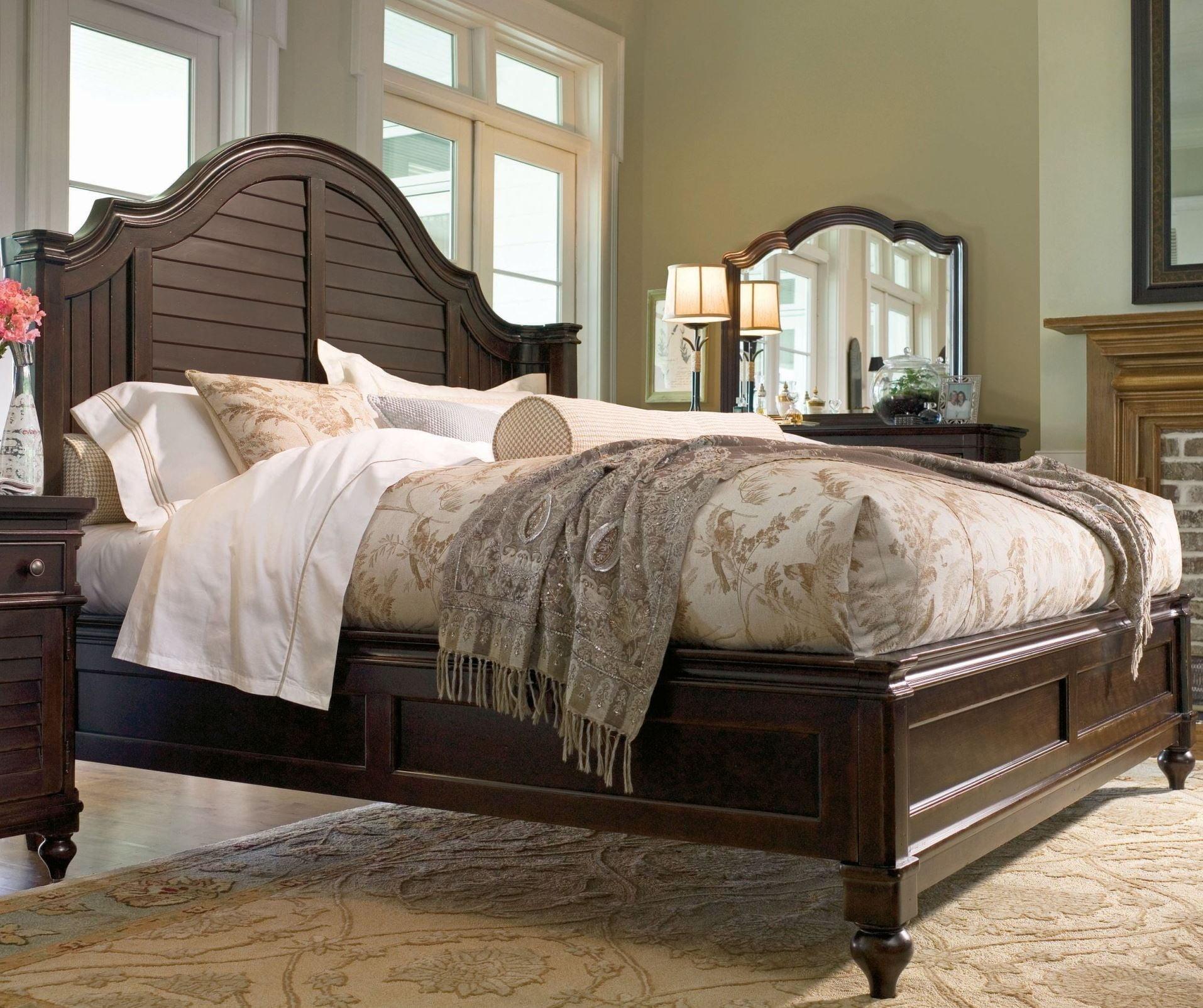 Paula Deen Home Tobacco Steel Magnolia Queen Bed From Paula Deen 932210b Coleman Furniture