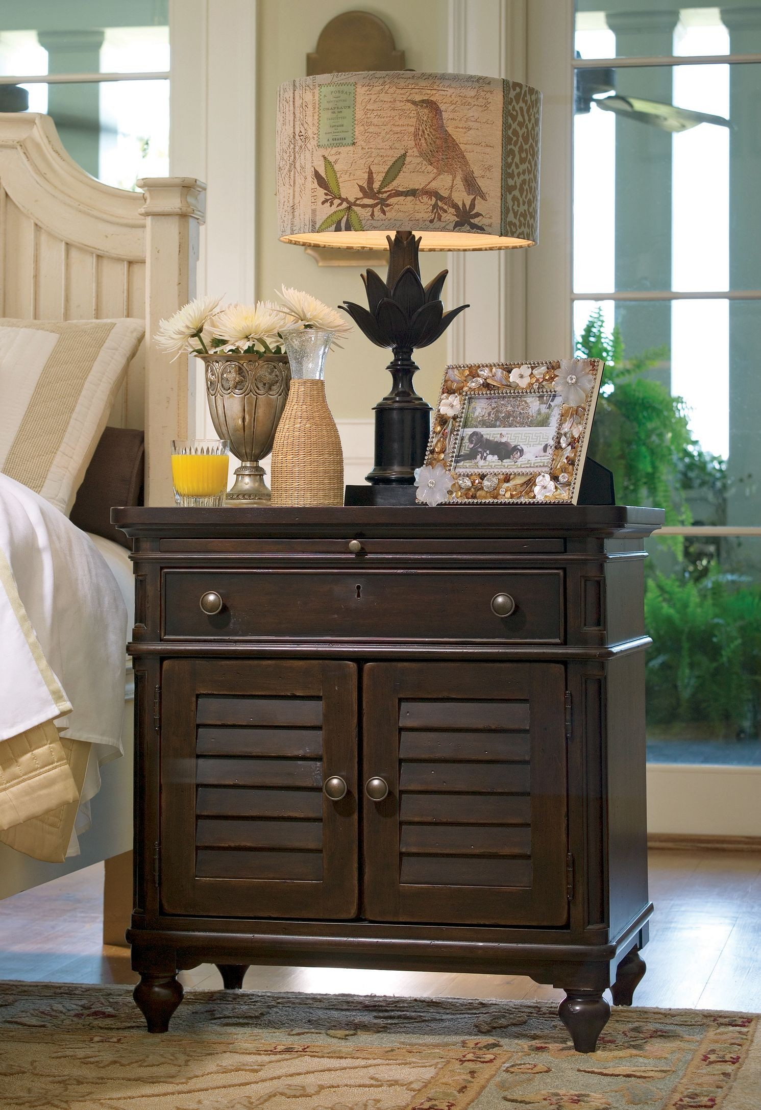 Paula deen home tobacco steel magnolia bedroom set from - Steel magnolia bedroom furniture ...