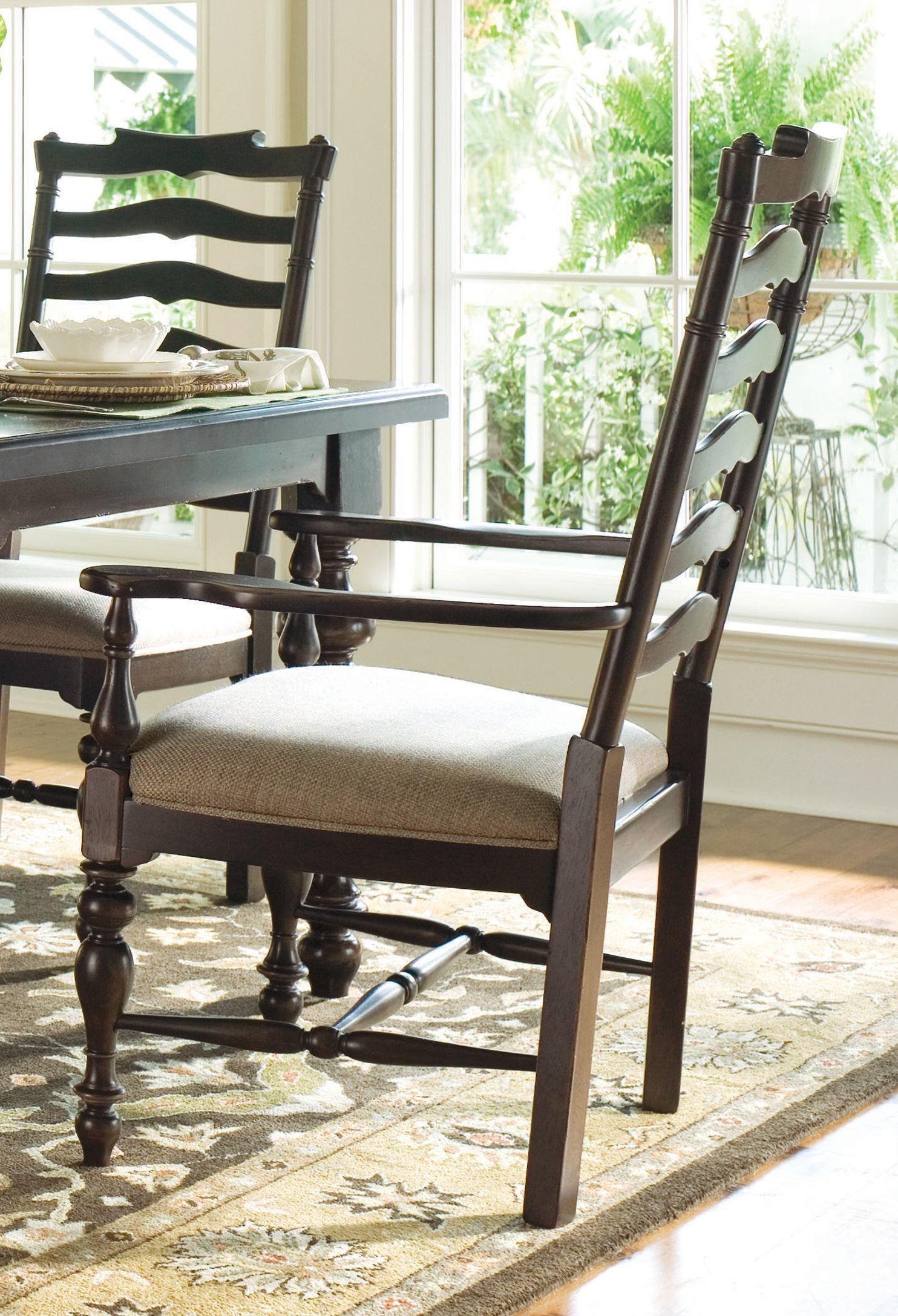 Paula Deen Home Tobacco Rectangular Extendable Dining Room