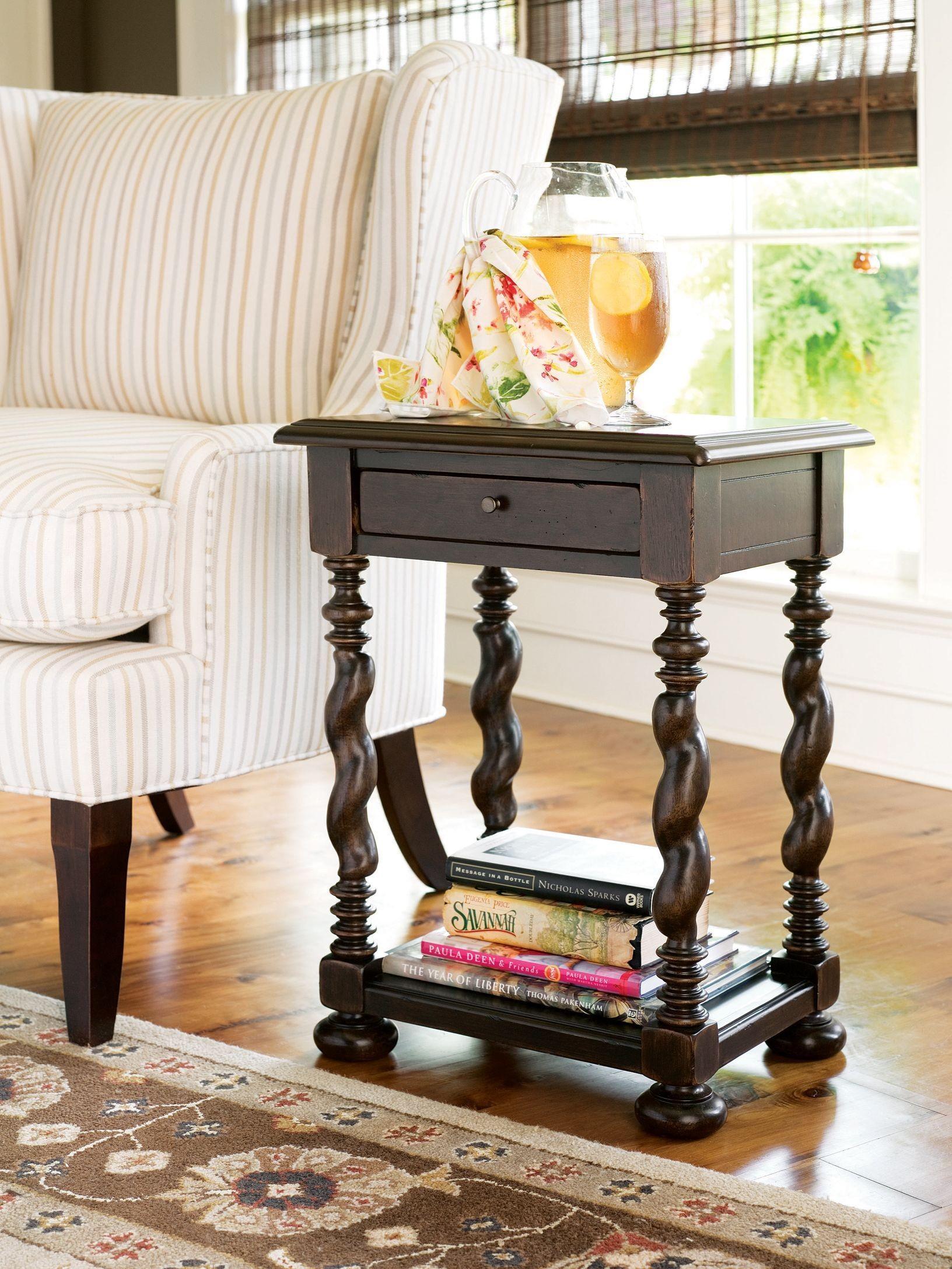 Paula Deen Home Tobacco Sweet Tea Side Table From Paula Deen 932827 Coleman Furniture
