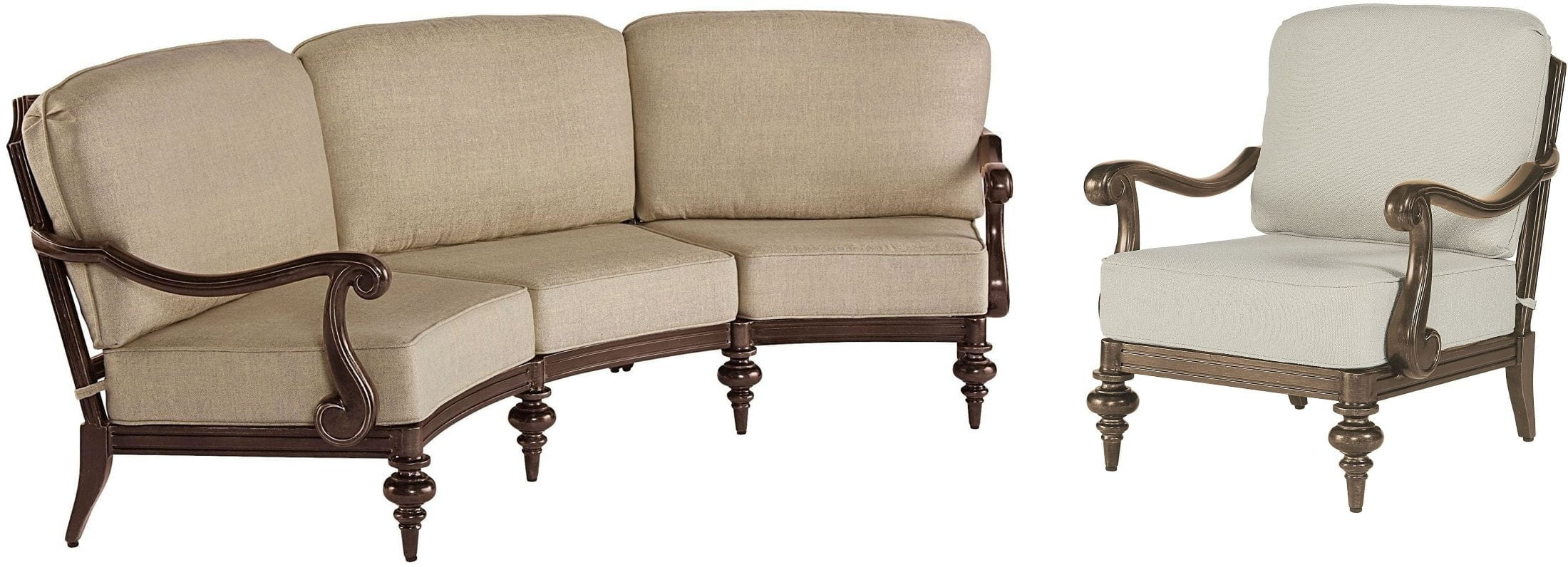 Arch Salvage Tobacco Cannes Living Room Set from ART | Coleman Furniture