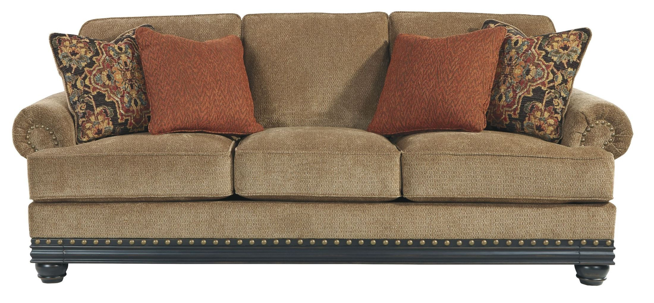 Elnora Umber Sofa From Ashley 9370238 Coleman Furniture