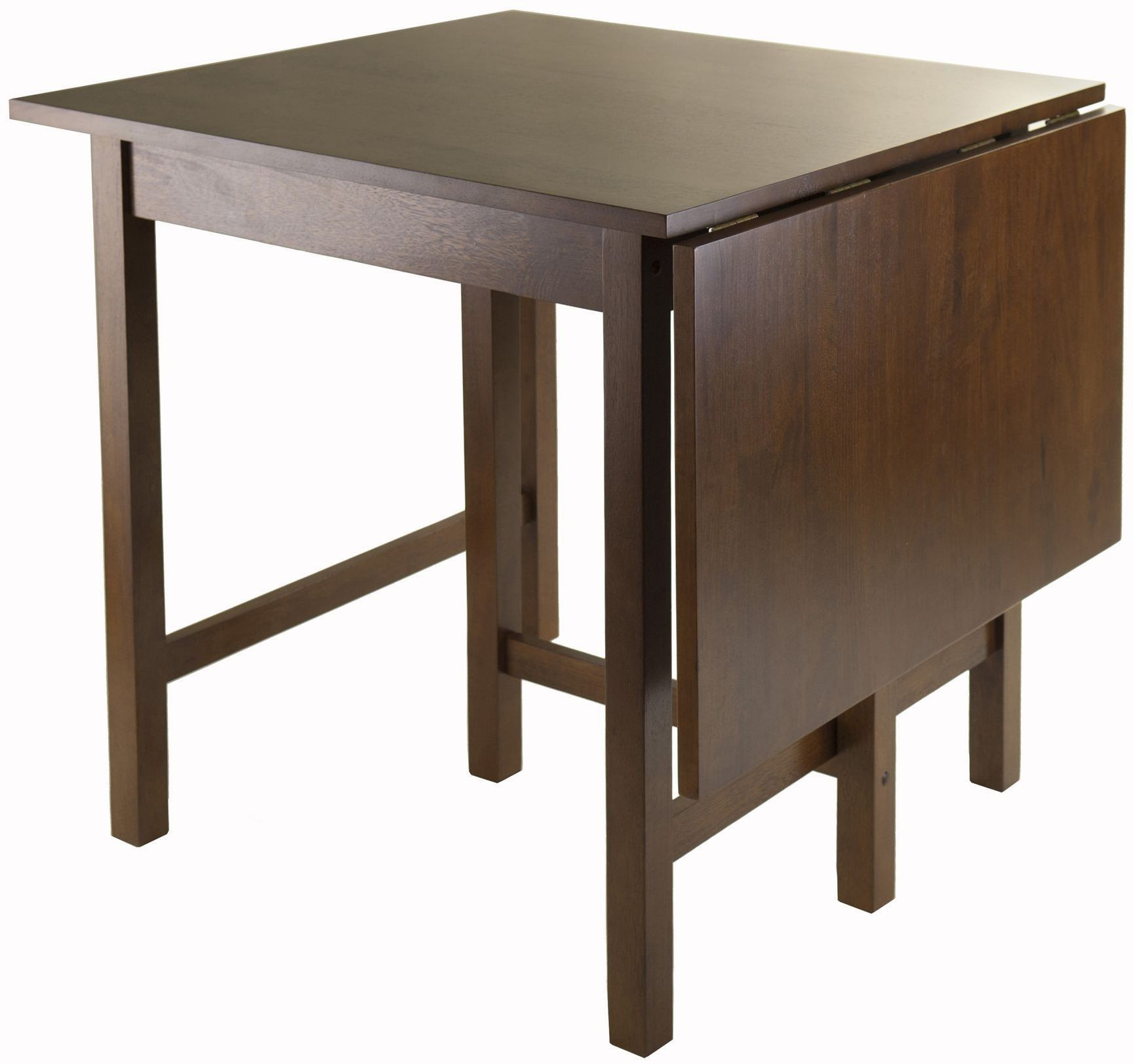 Lynden Walnut Drop Leaf Extendable Dining Table from  : 94048folded lyndenwinsomewoods from colemanfurniture.com size 1728 x 1622 jpeg 195kB