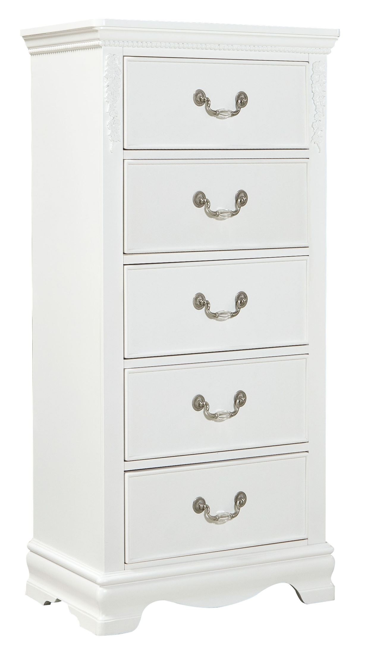 Bombe 94 dedans jessica clean white youth panel bedroom set from standard (94201