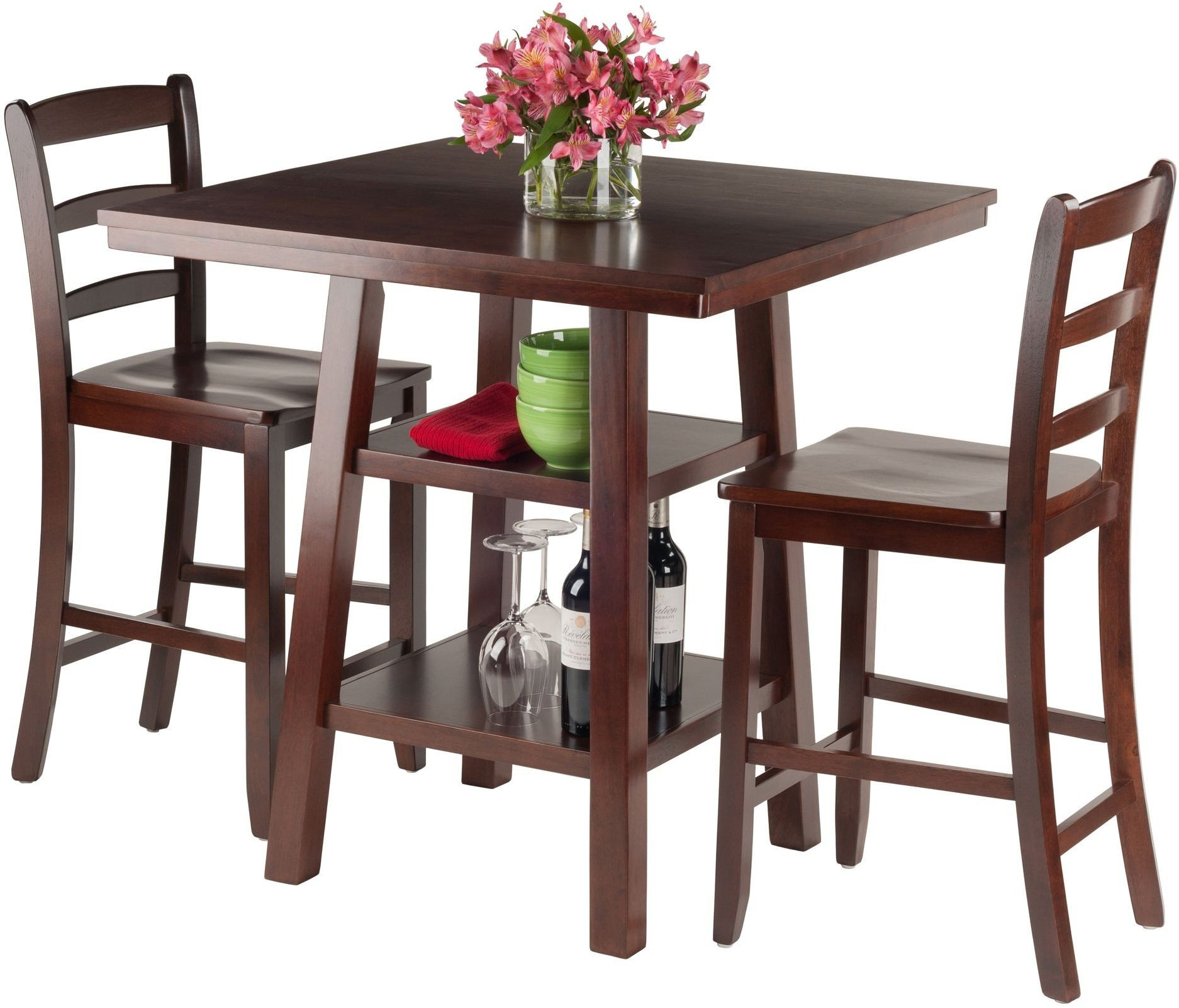 Orlando Walnut Counter Height Dining Table from  : 943122 orlandoprop1winsomewoods from colemanfurniture.com size 1874 x 1602 jpeg 324kB