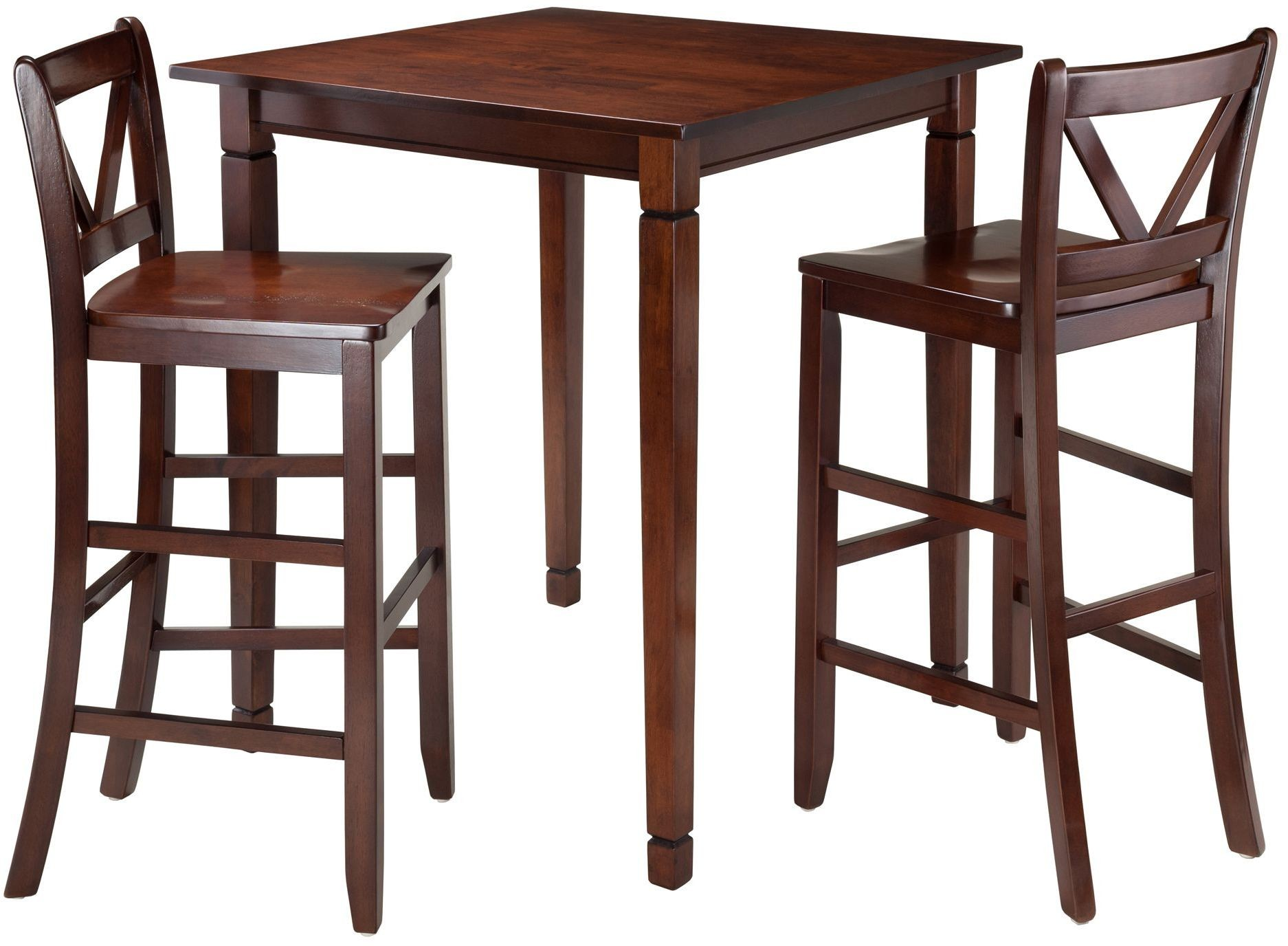 Kingsgate 3 piece dining room set from winsomewood for 3 piece dining room set