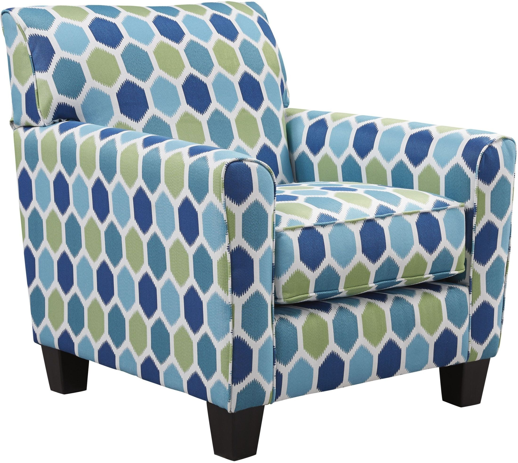 Ayanna Nuvella Turquoise Accent Chair From Ashley