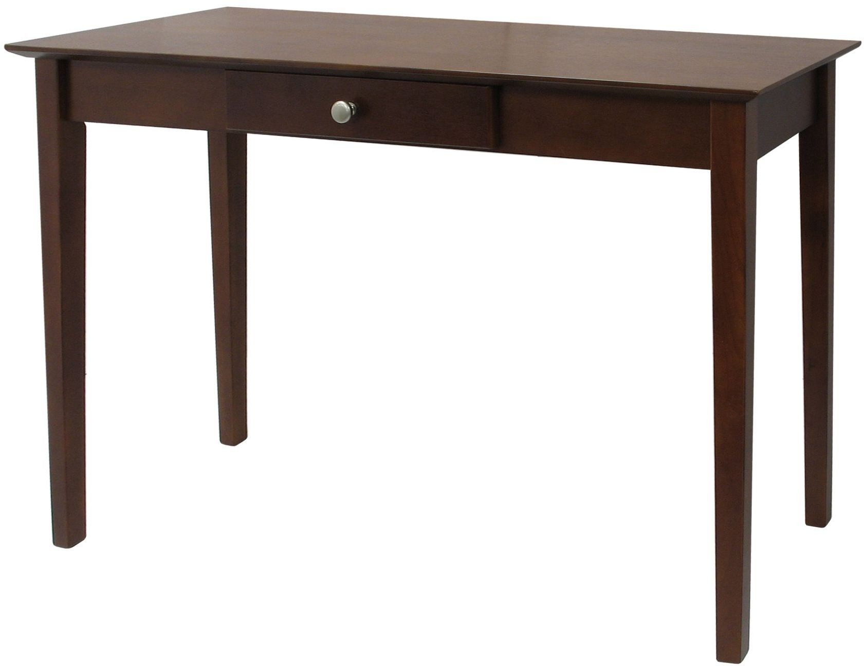 Rochester antique walnut drawer console table from for Sofa table vintage