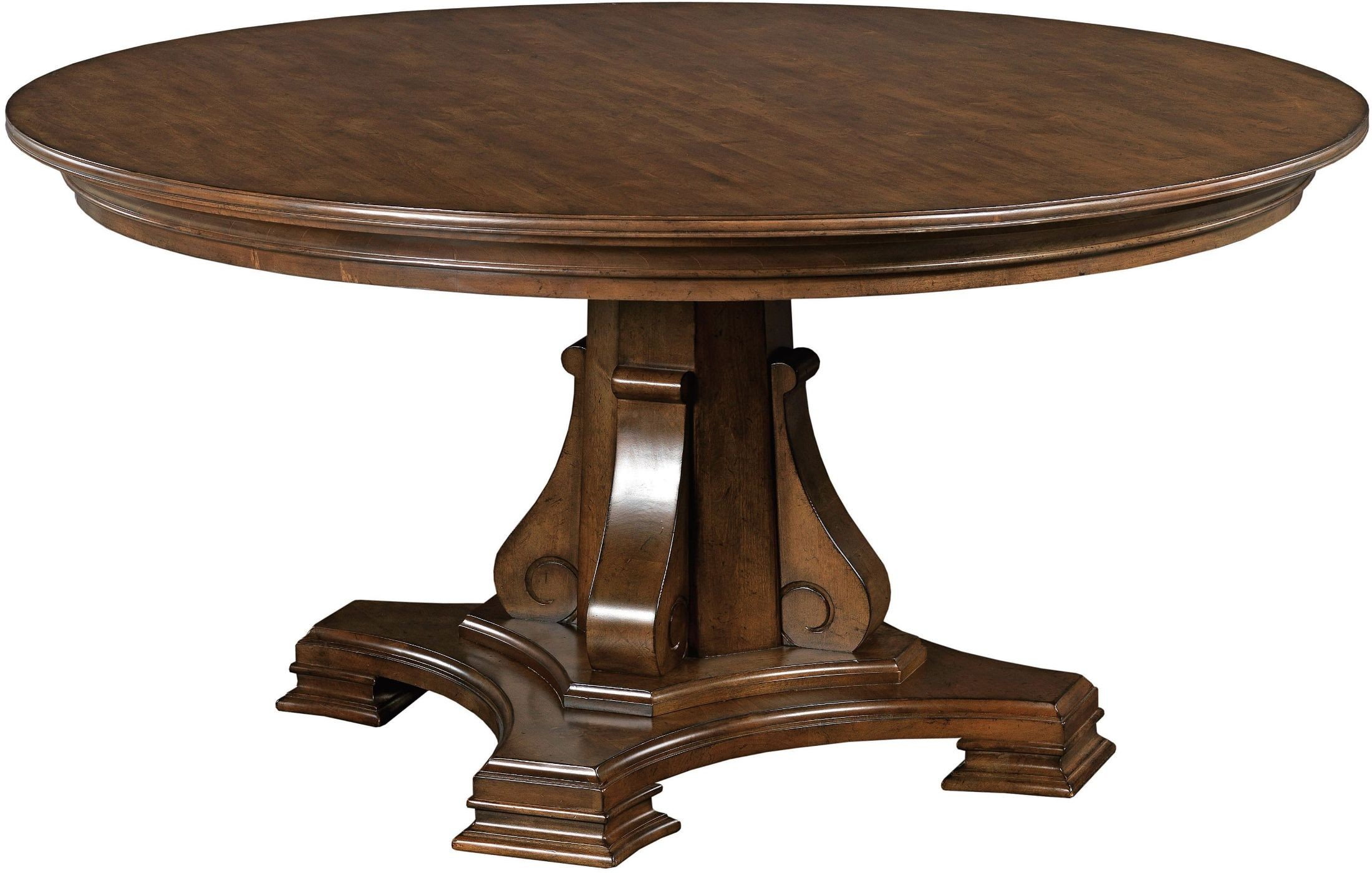 "Portolone 60"" Round Dining Table from Kincaid (95-052T ..."