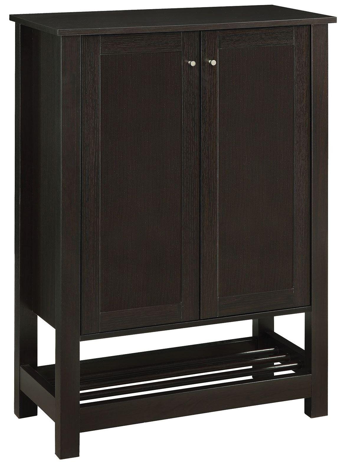 Cappuccino Door Shoe Cabinet From Coaster 950550