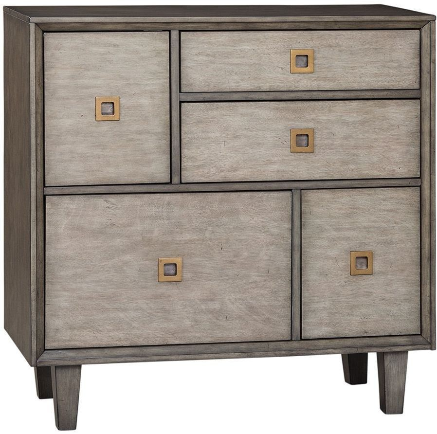 Weathered Gray Kitchen Cabinets: Weathered Grey Accent Cabinet By Scott Living From Coaster