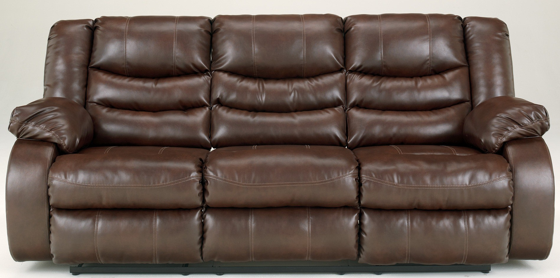 Linebacker Durablend Espresso Reclining Sofa From Ashley