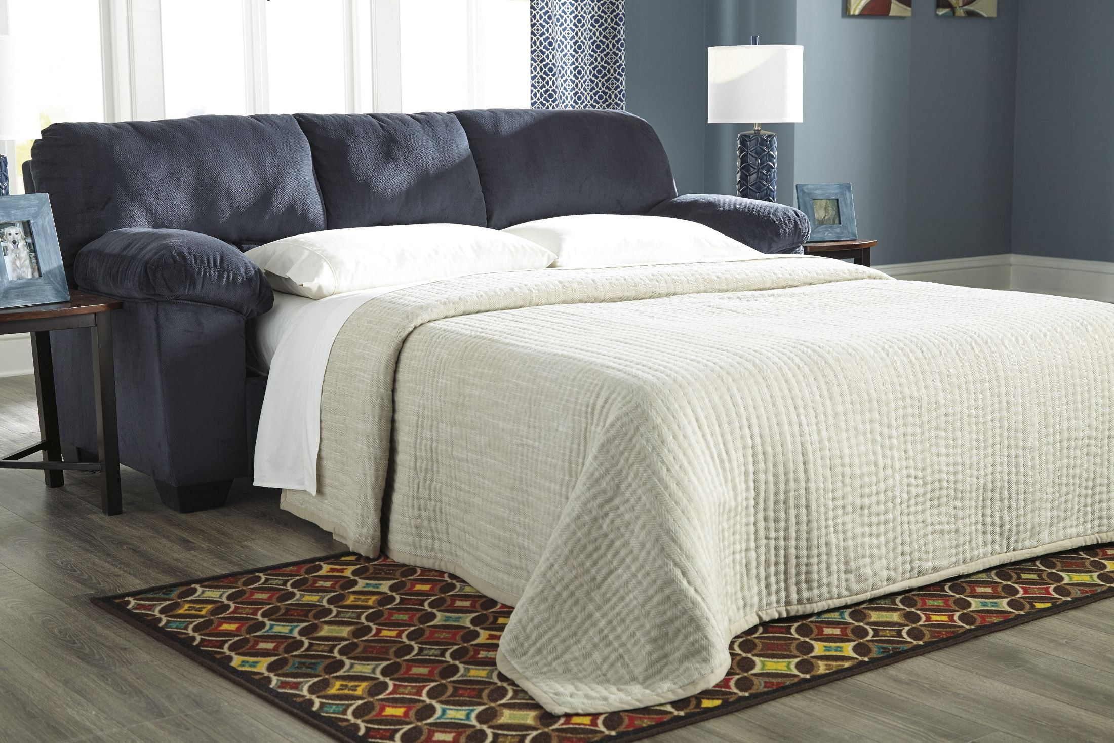 Dailey Midnight Full Sofa Sleeper From Ashley 9540236