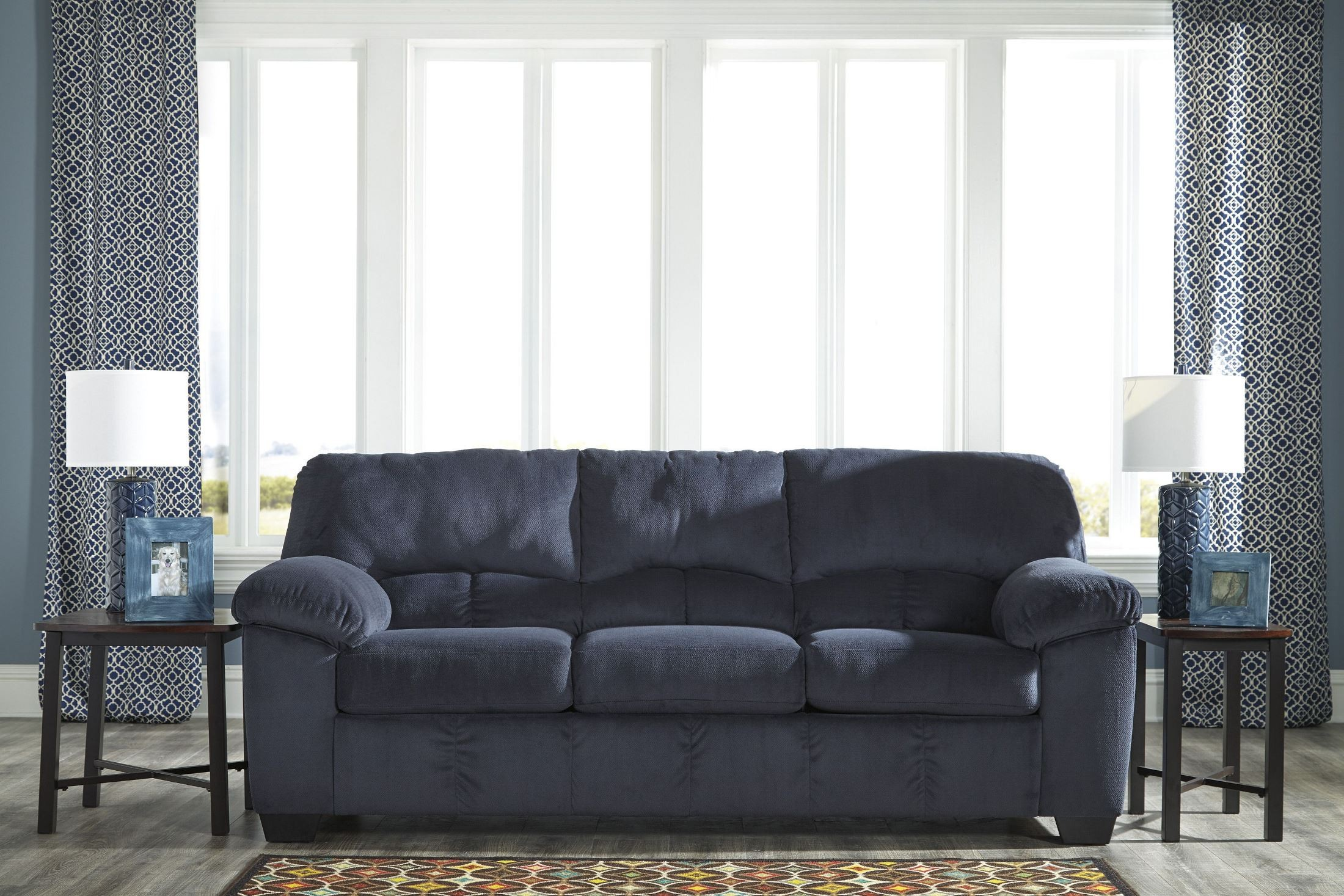 Dailey Midnight Sofa From Ashley 9540238 Coleman Furniture