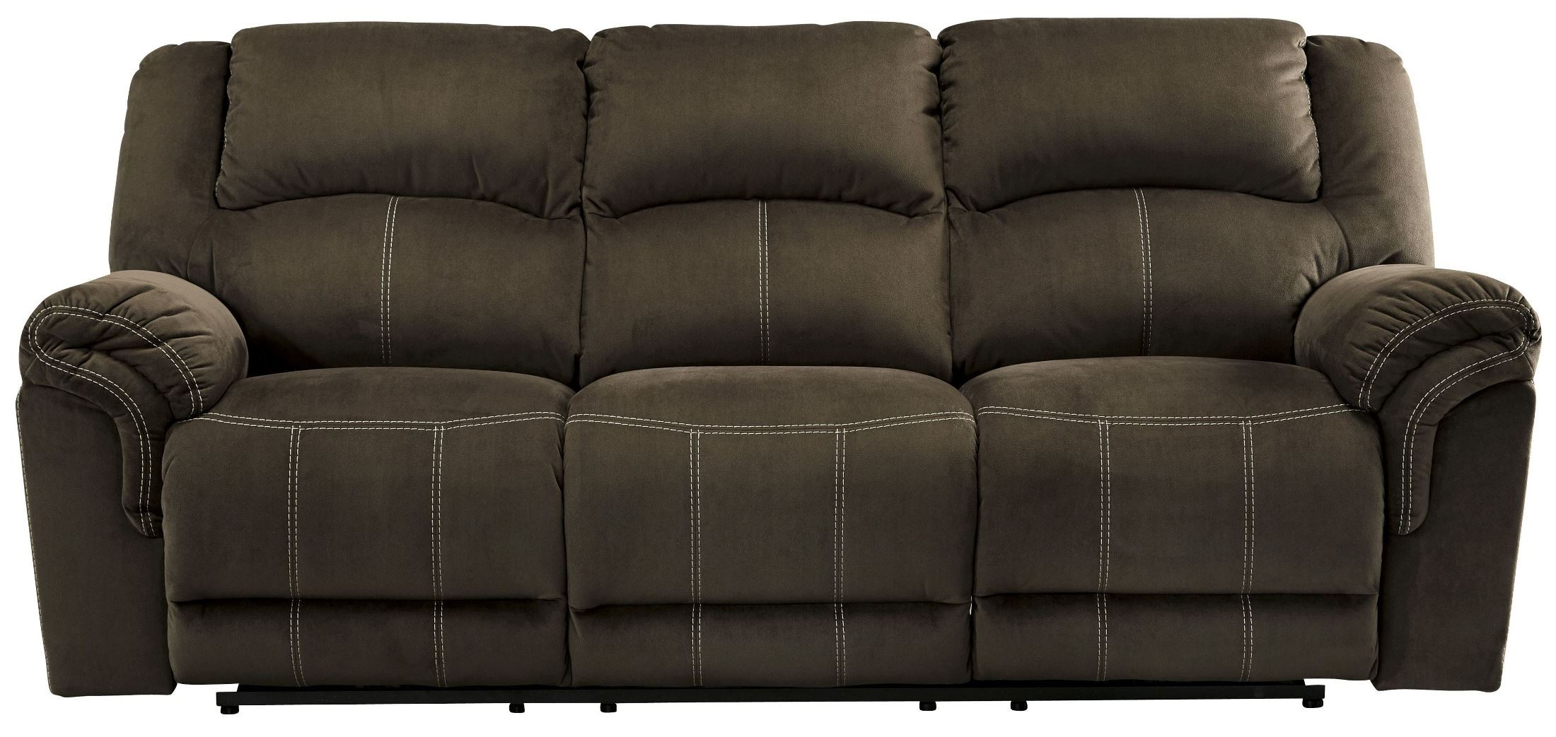 Quinnlyn Coffee Power Reclining Living Room Set From
