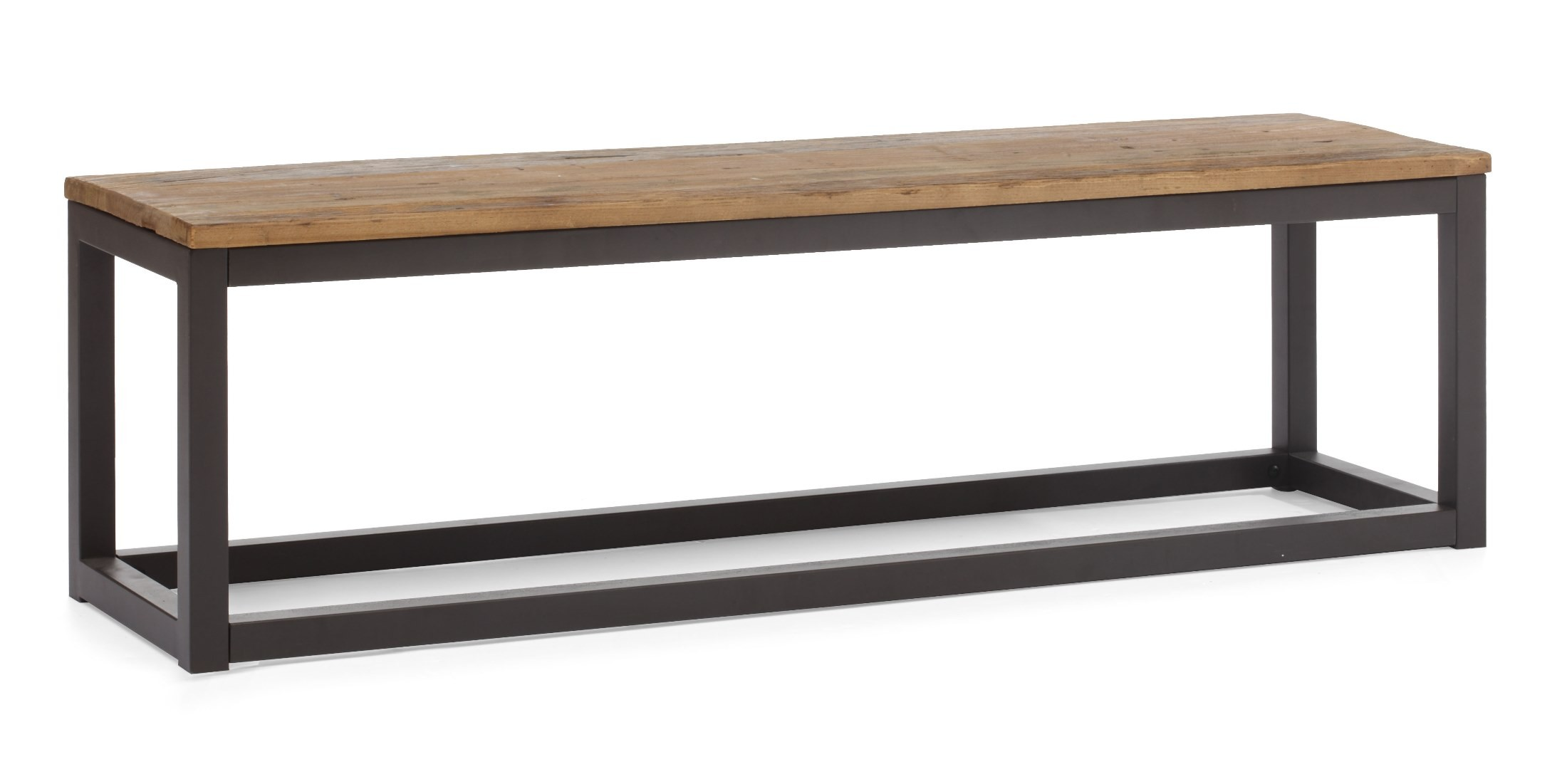 Civic Center Distressed Natural Bench From Zuo Mod 98124 Coleman Furniture