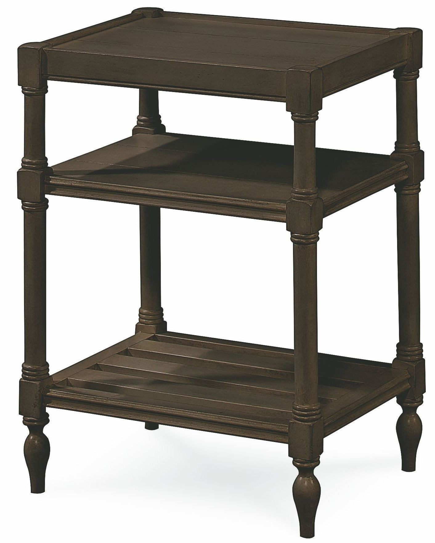 Summer Hill Brown Chair Side Table From Universal 988817