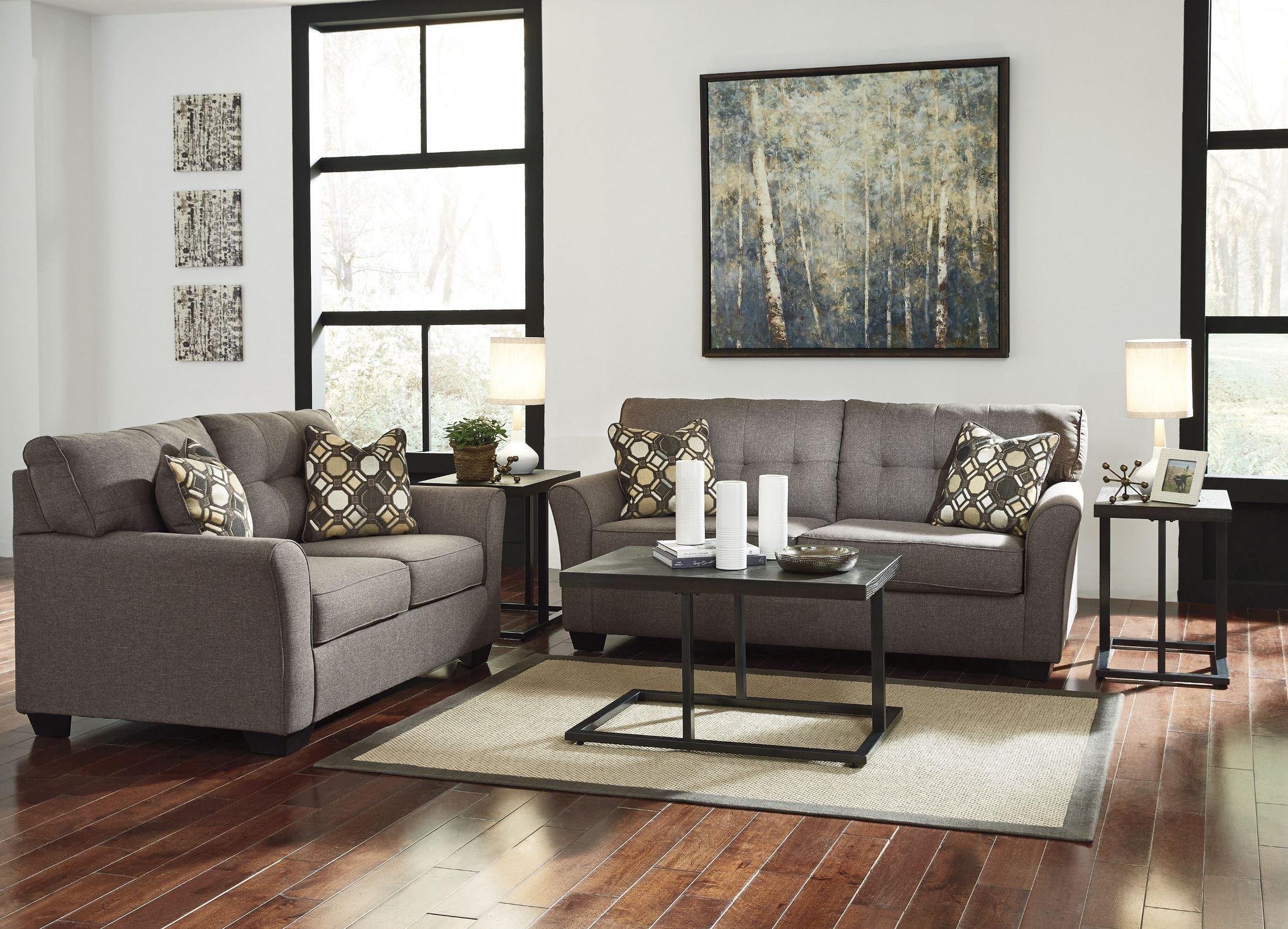 Tibbee Slate Full Sofa Sleeper From Ashley 9910136