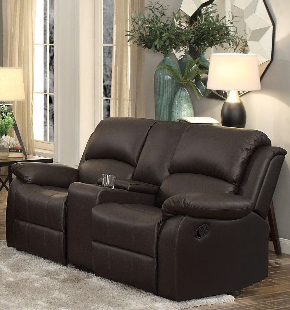 wb america loveseat of karlee foa with reclining ct furniture console lv center