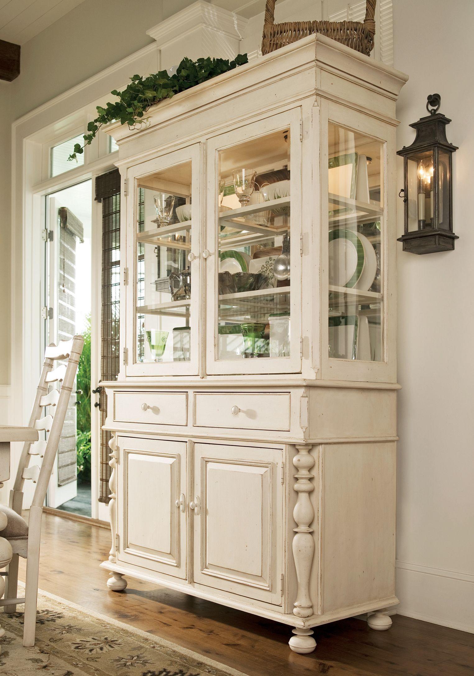 Paula Deen Home Linen Buffet & Hutch from Paula Deen (996680C ...