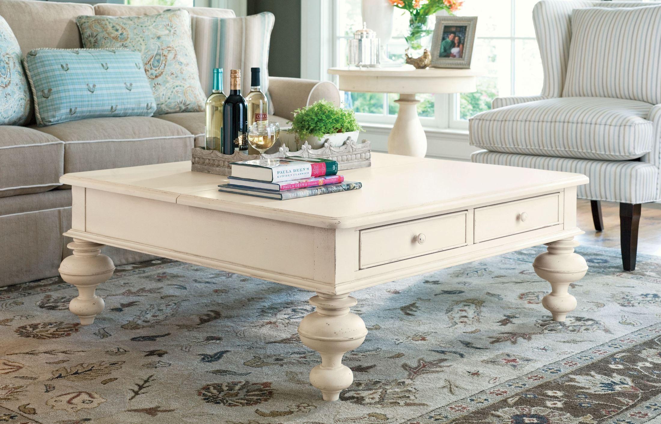 Paula Deen Home Linen Put Your Feet Up Table From Paula