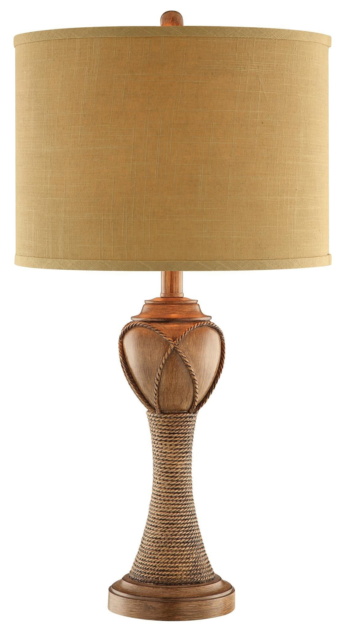Parrilla Light Brown Table Lamp from Steinworld (99882 ...