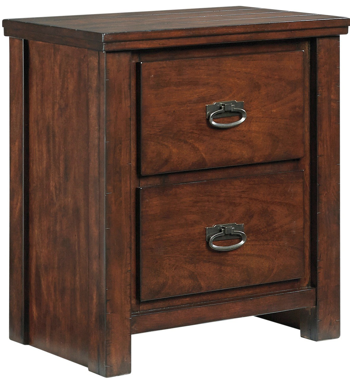 Ladiville two drawer night stand from ashley b567 92 for Affordable furniture ville platte la