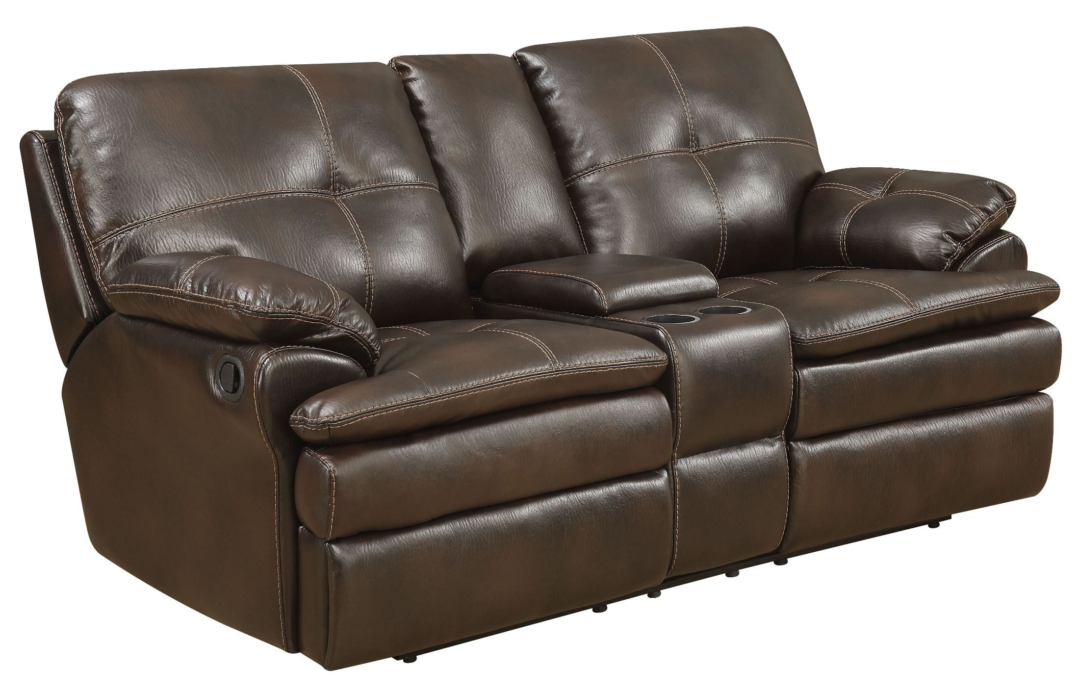 Jackson Brown Reclining Loveseat From Avalon Furniture Coleman Furniture