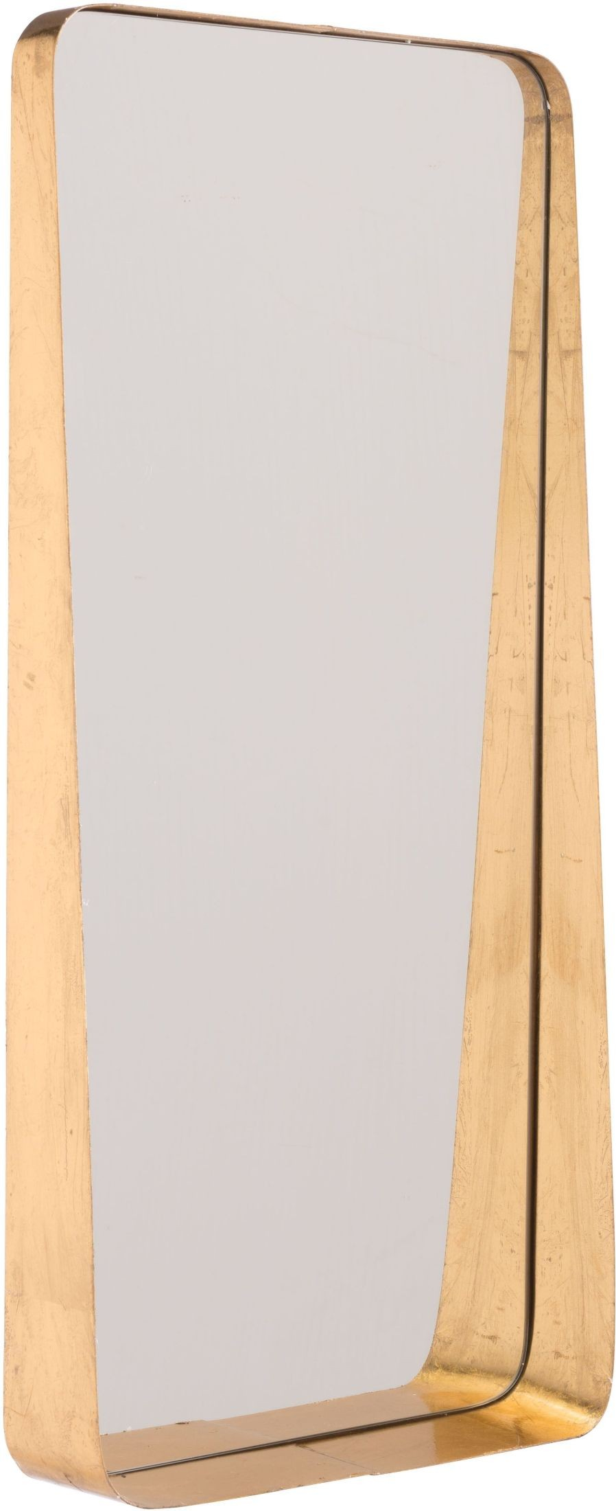 Gold tall mirror from zuo coleman furniture for Tall gold mirror