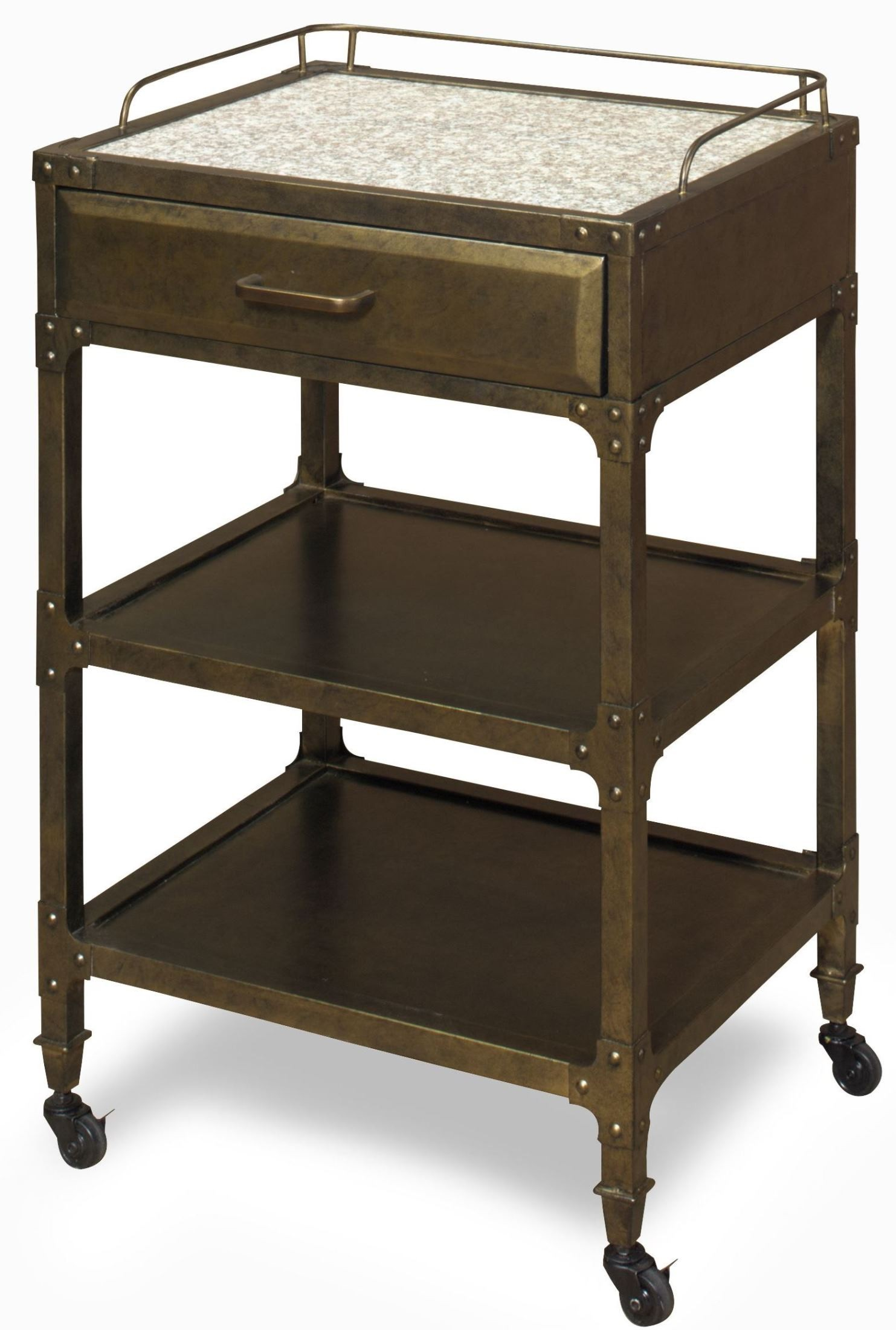 max metal utility table from progressive furniture coleman furniture. Black Bedroom Furniture Sets. Home Design Ideas