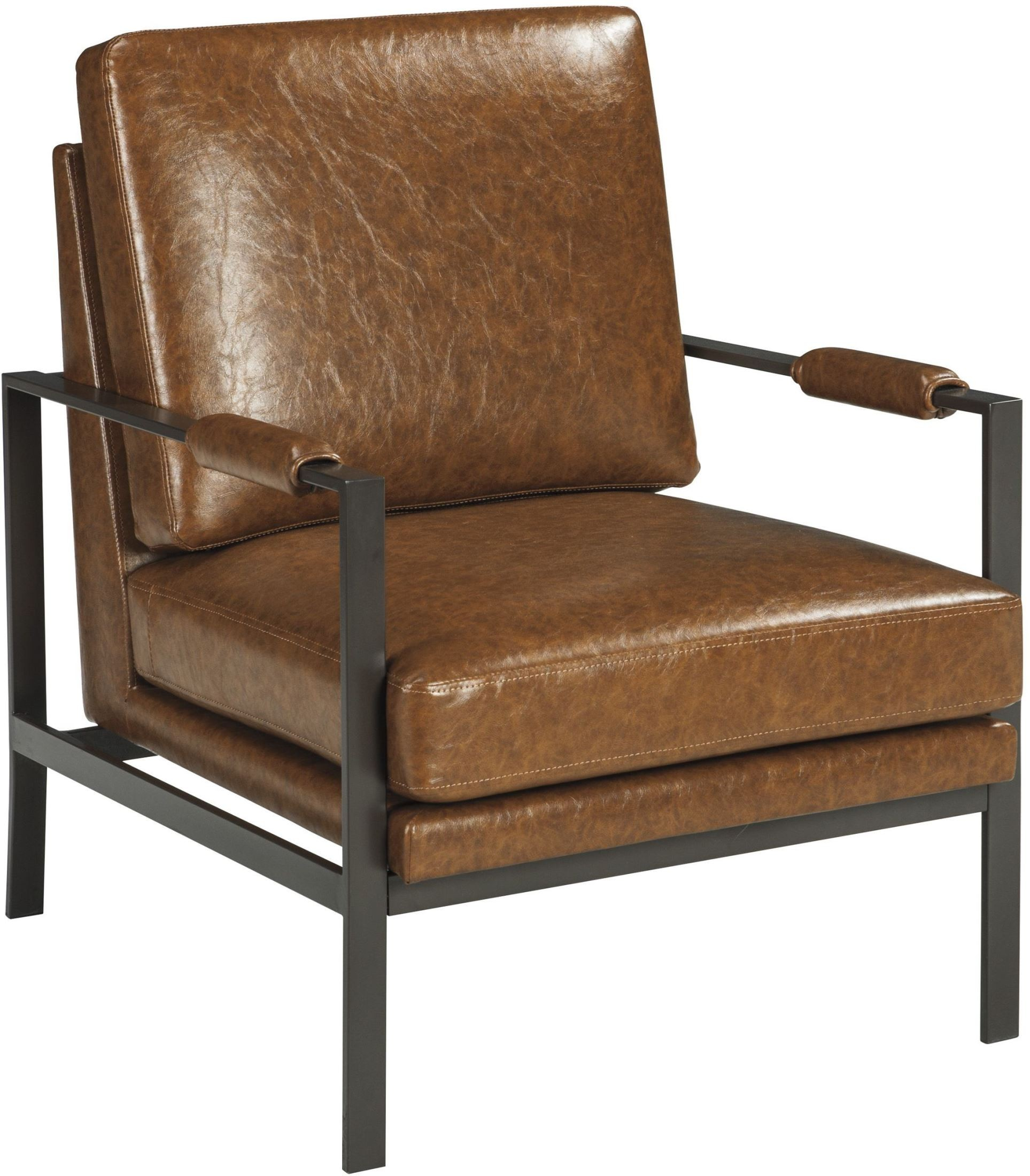 X. Peacemaker Brown Accent Chair