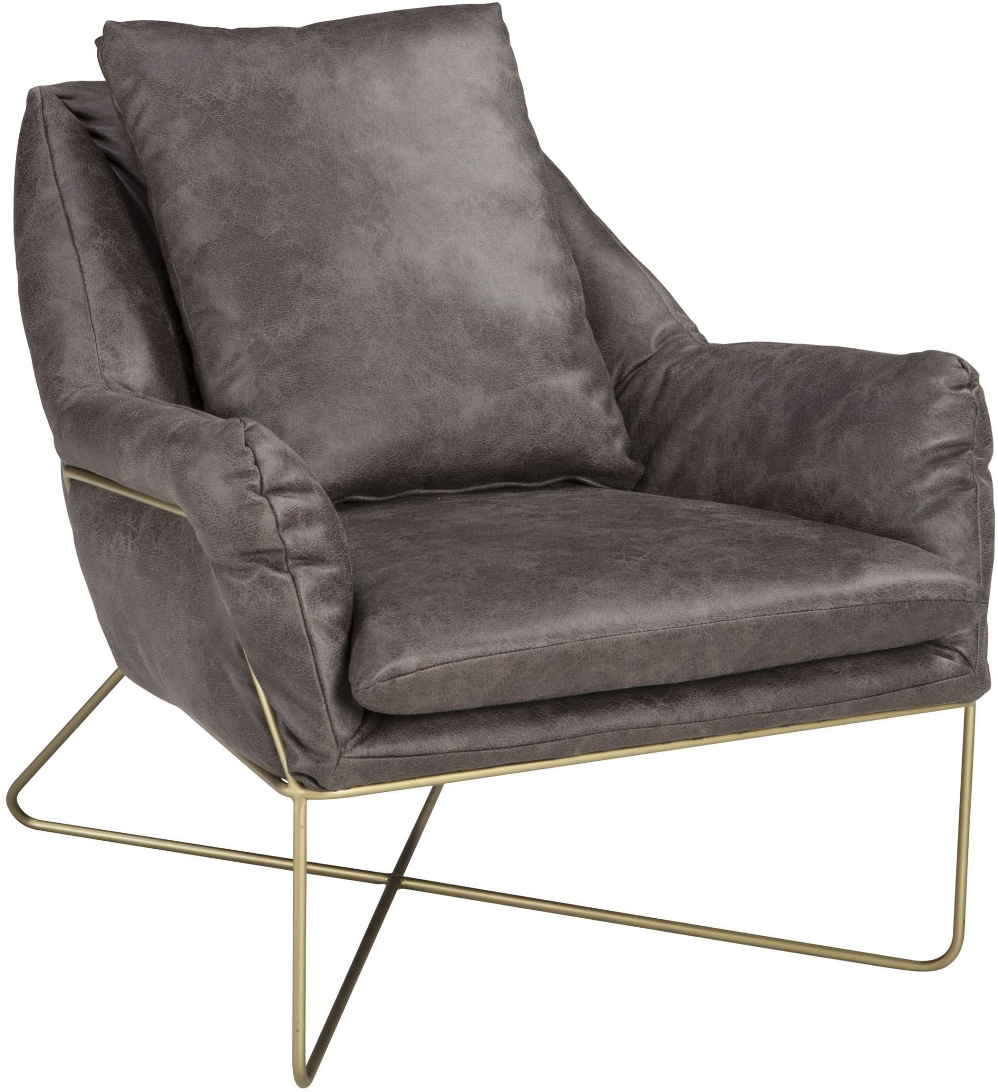 Crosshaven Dark Gray Accent Chair from Ashley