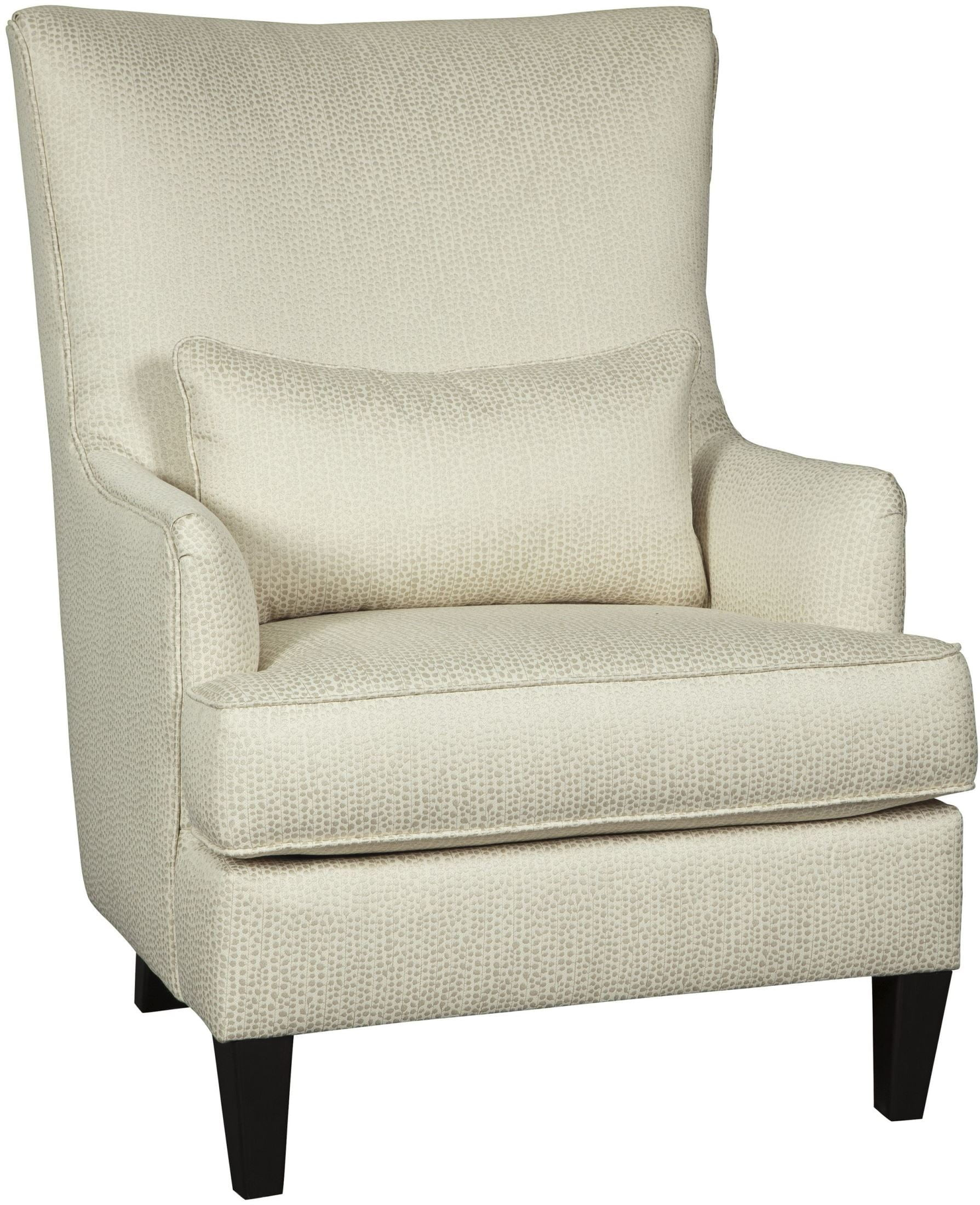 Paseo Ivory Accent Chair From Ashley Coleman Furniture