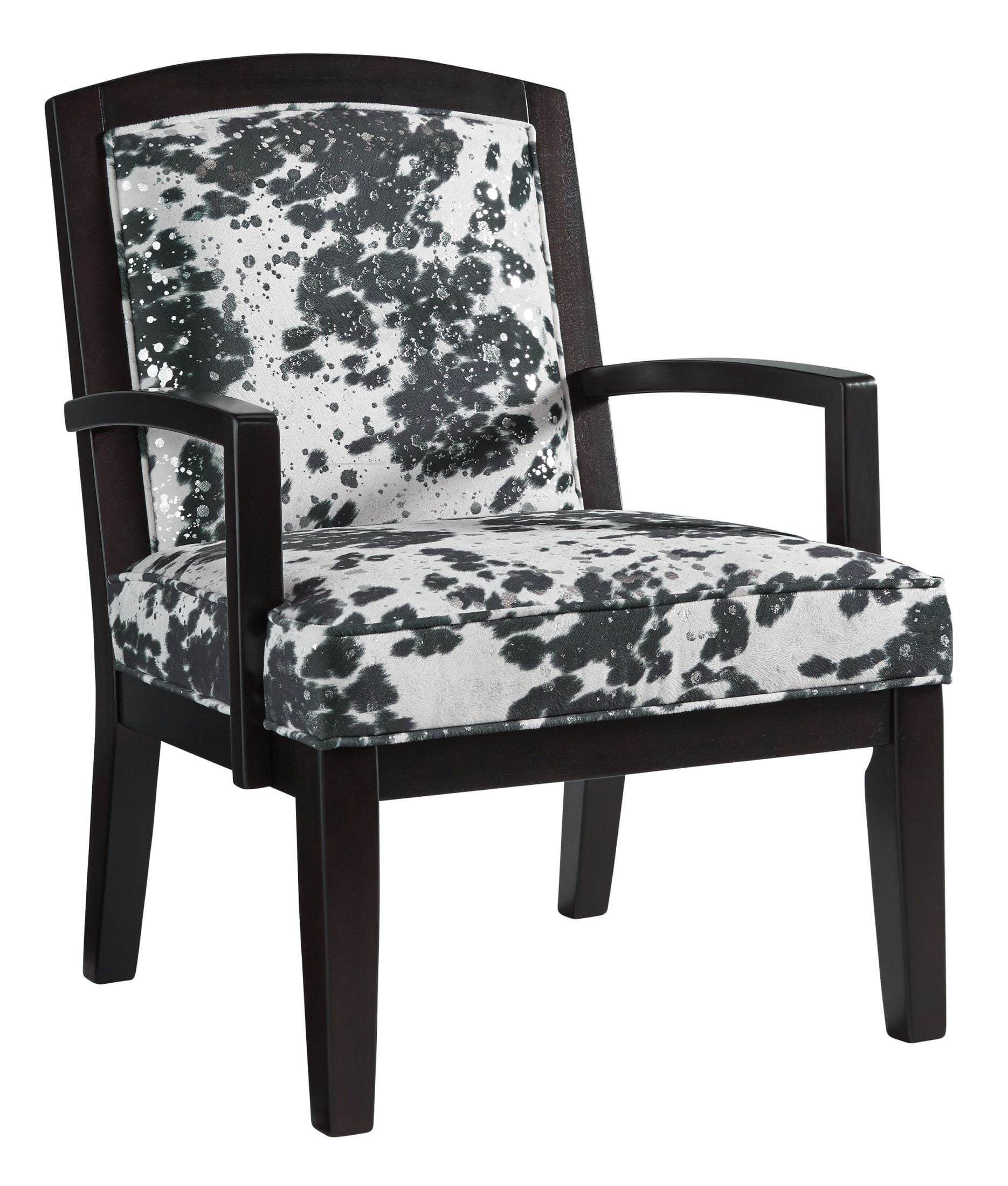 Attrayant X. Treven Black And Cream Accent Chair