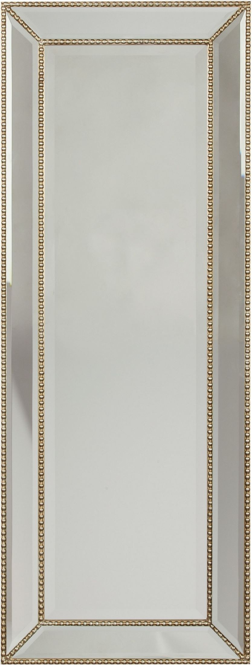 Dhavala silver and black accent mirror from ashley for Accent mirrors