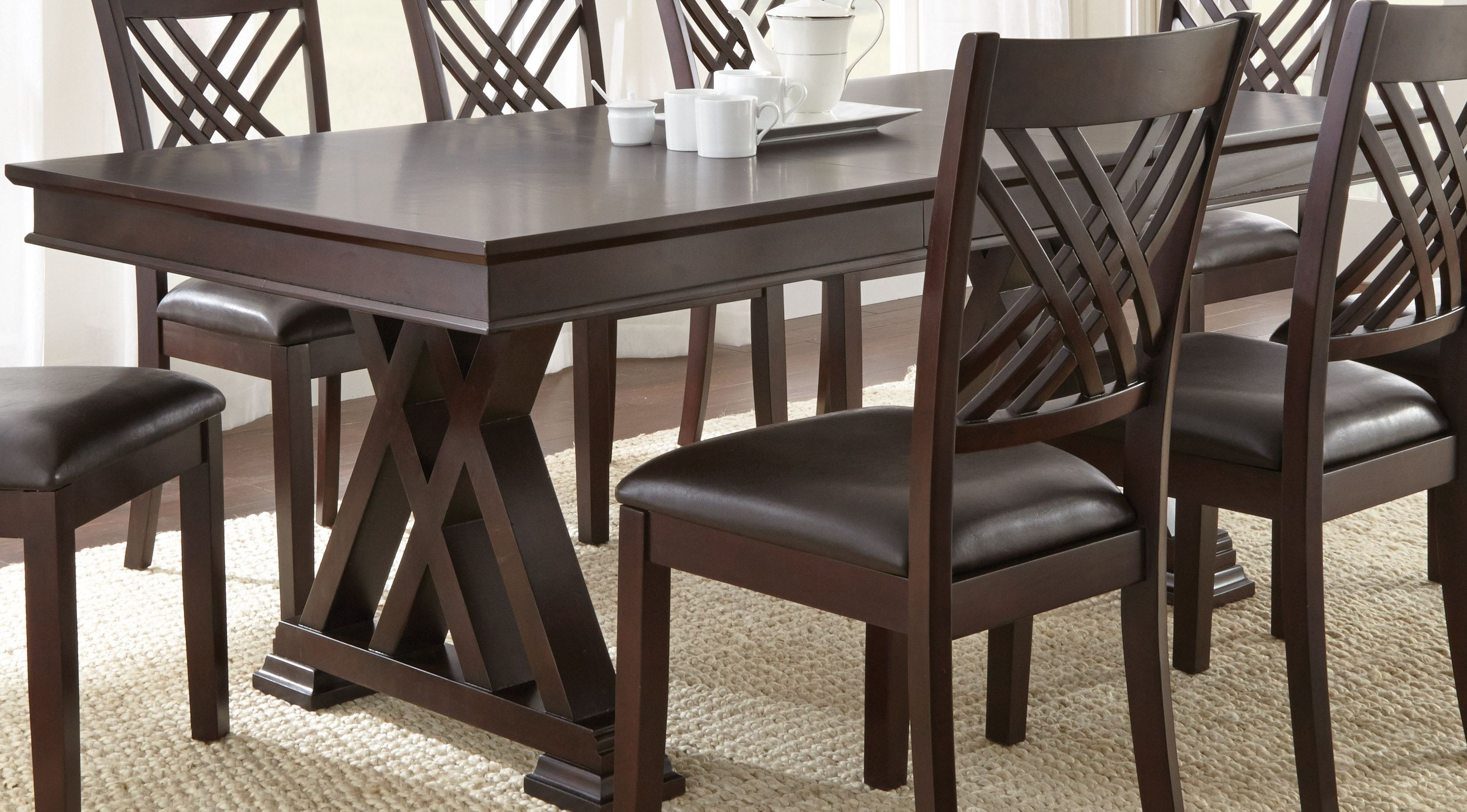 Adrian Extendable Rectangular Dining Table From Steve