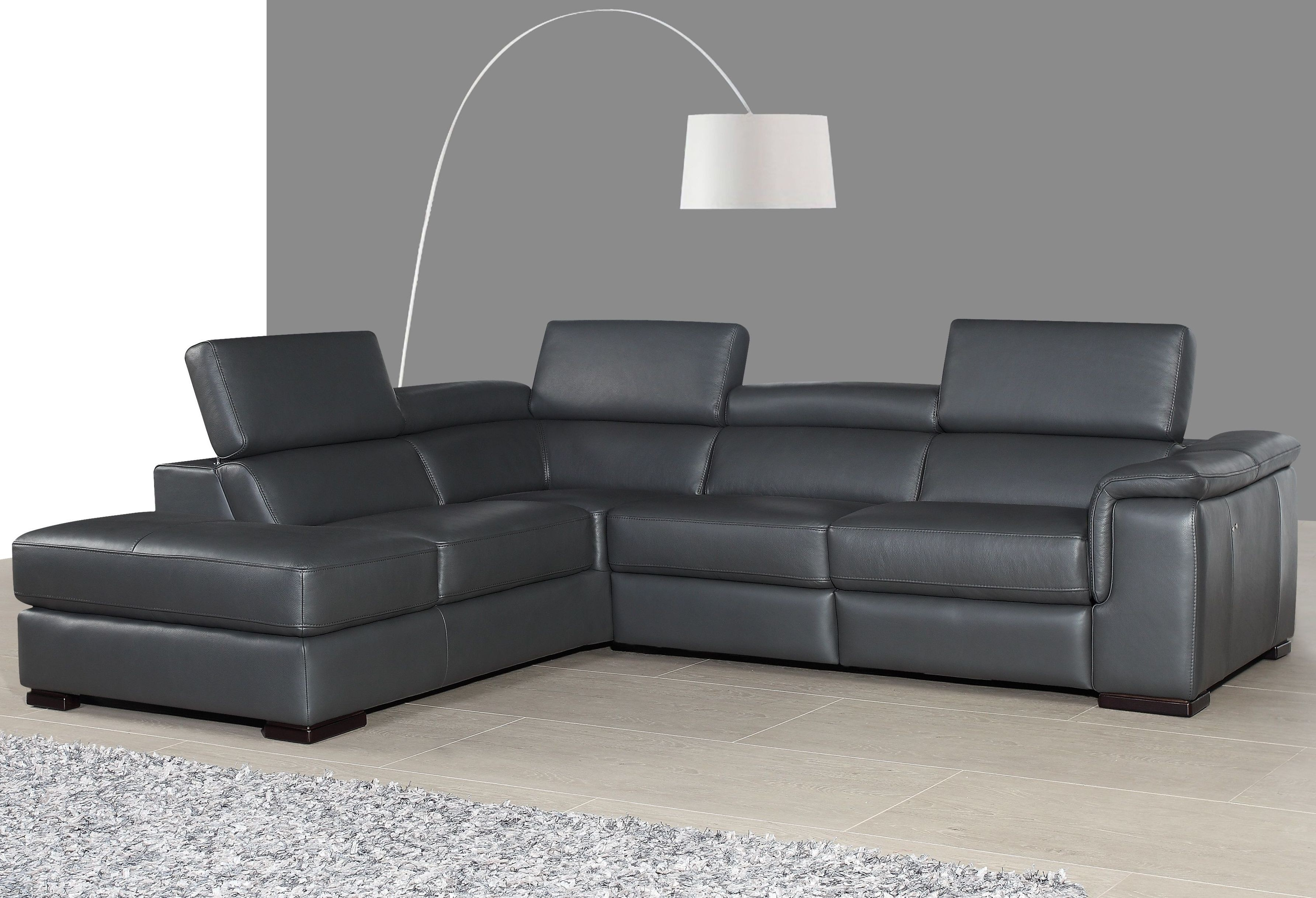 Leather Sectional Reclining Furniture
