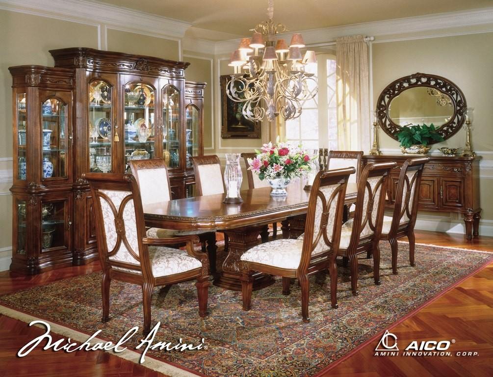 Villagio Rectangular Dining Room Set from Aico (580)   Coleman ...