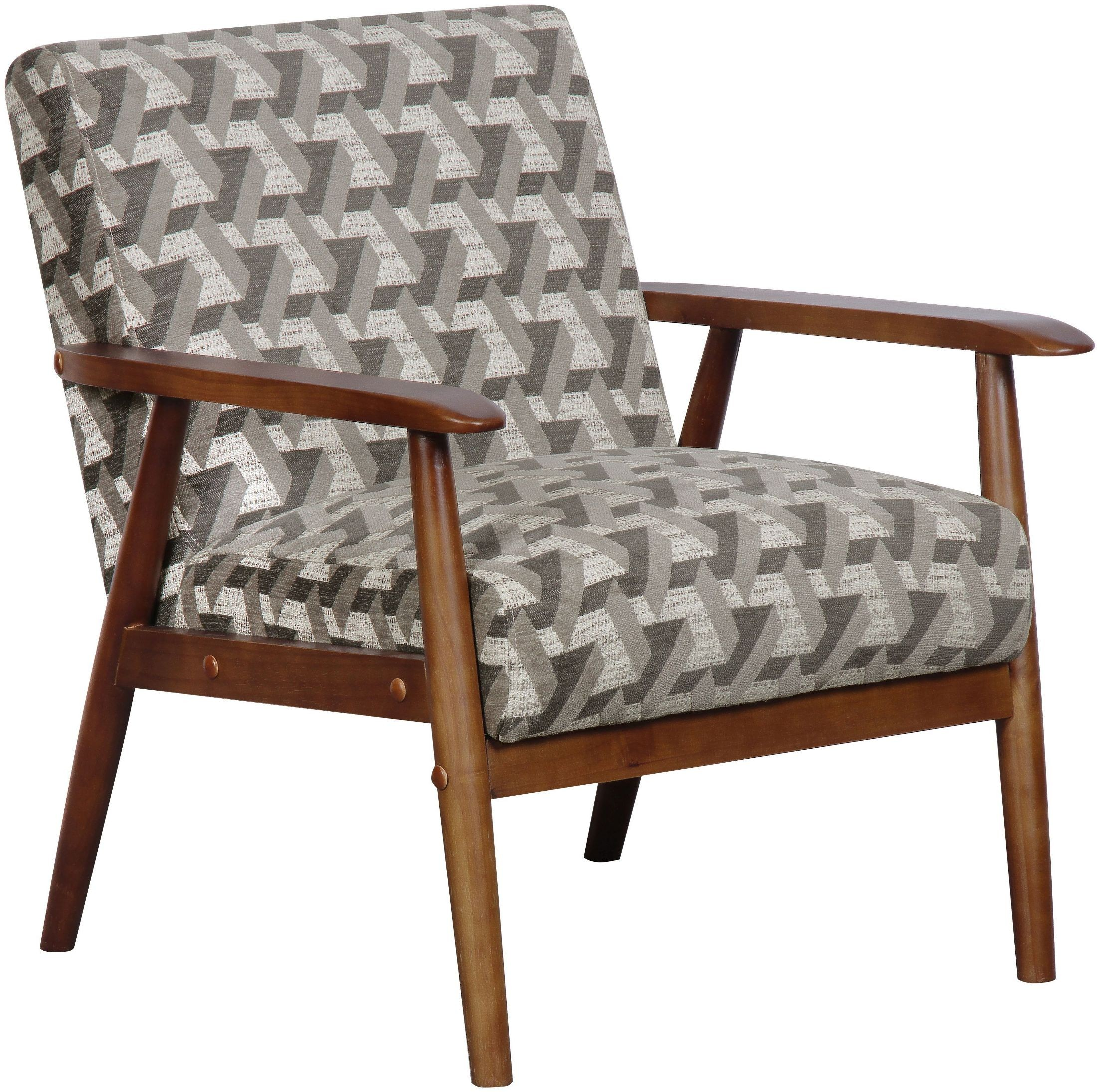 Prism flannel wood frame accent chair from pulaski for Timber frame accents