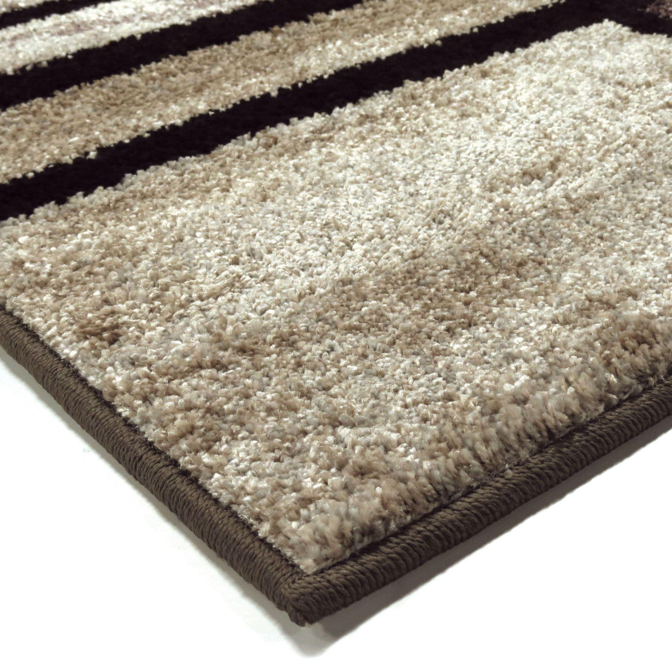 Orian Rugs Plush Pile Blocks Armada Gray Area Large Rug