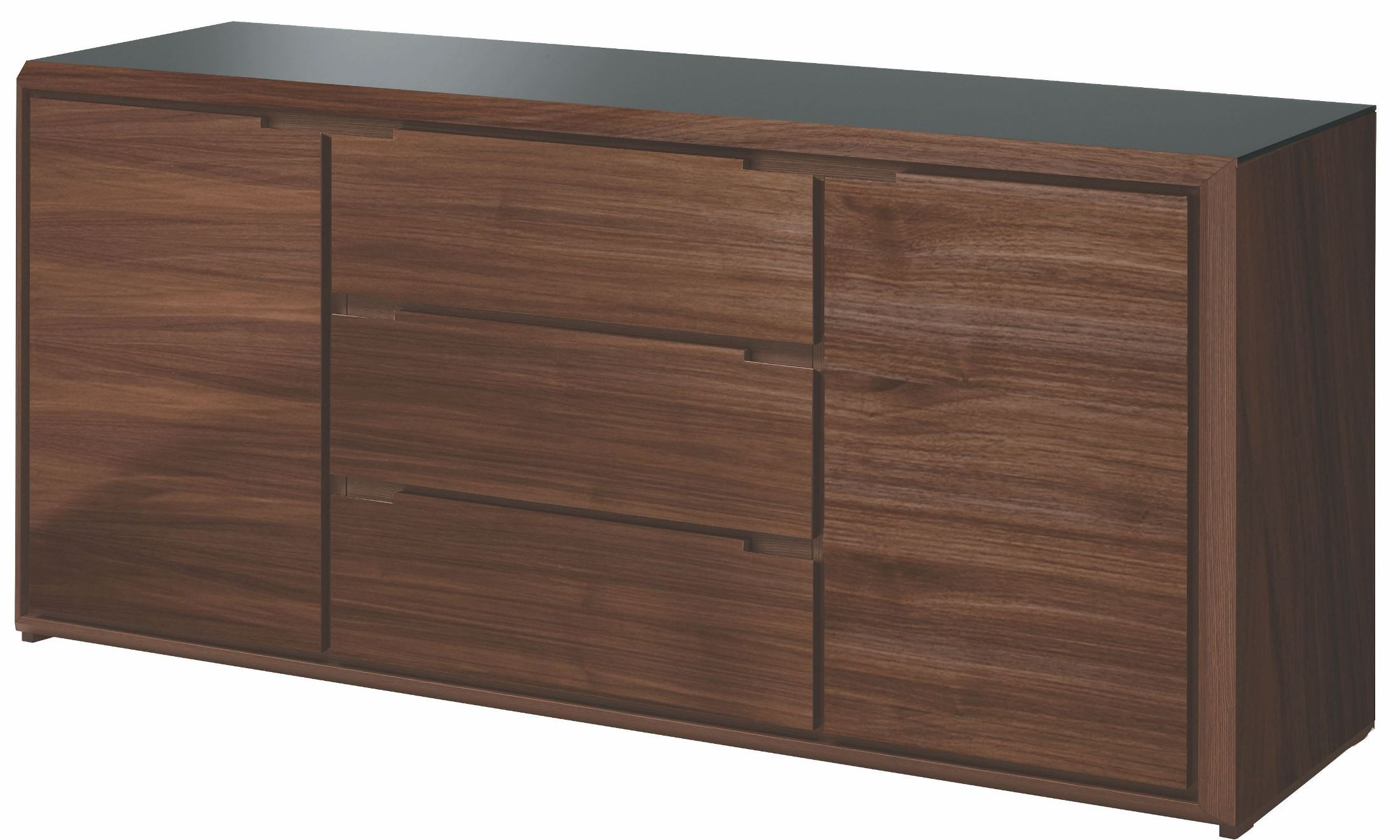 arc walnut sideboard from domitalia arc. Black Bedroom Furniture Sets. Home Design Ideas