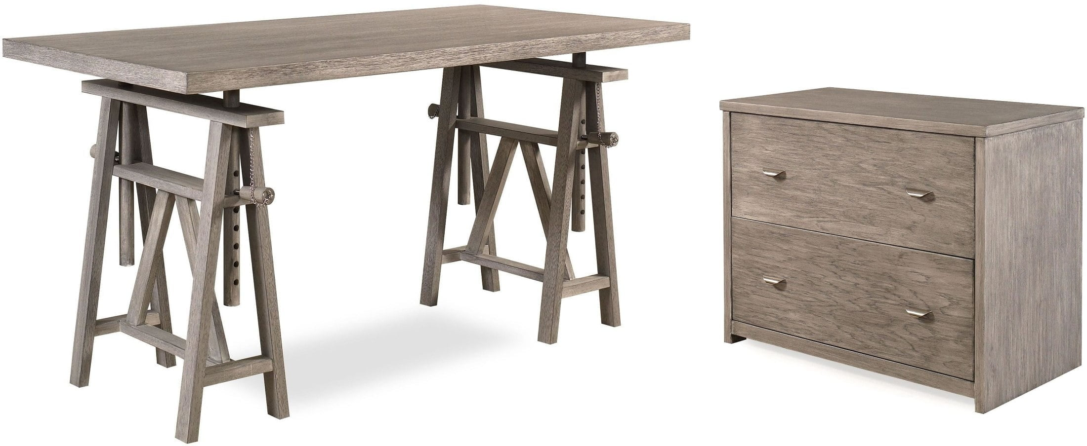 Incroyable Architect Driftwood Home Office Set From Ligna Furniture   Coleman Furniture