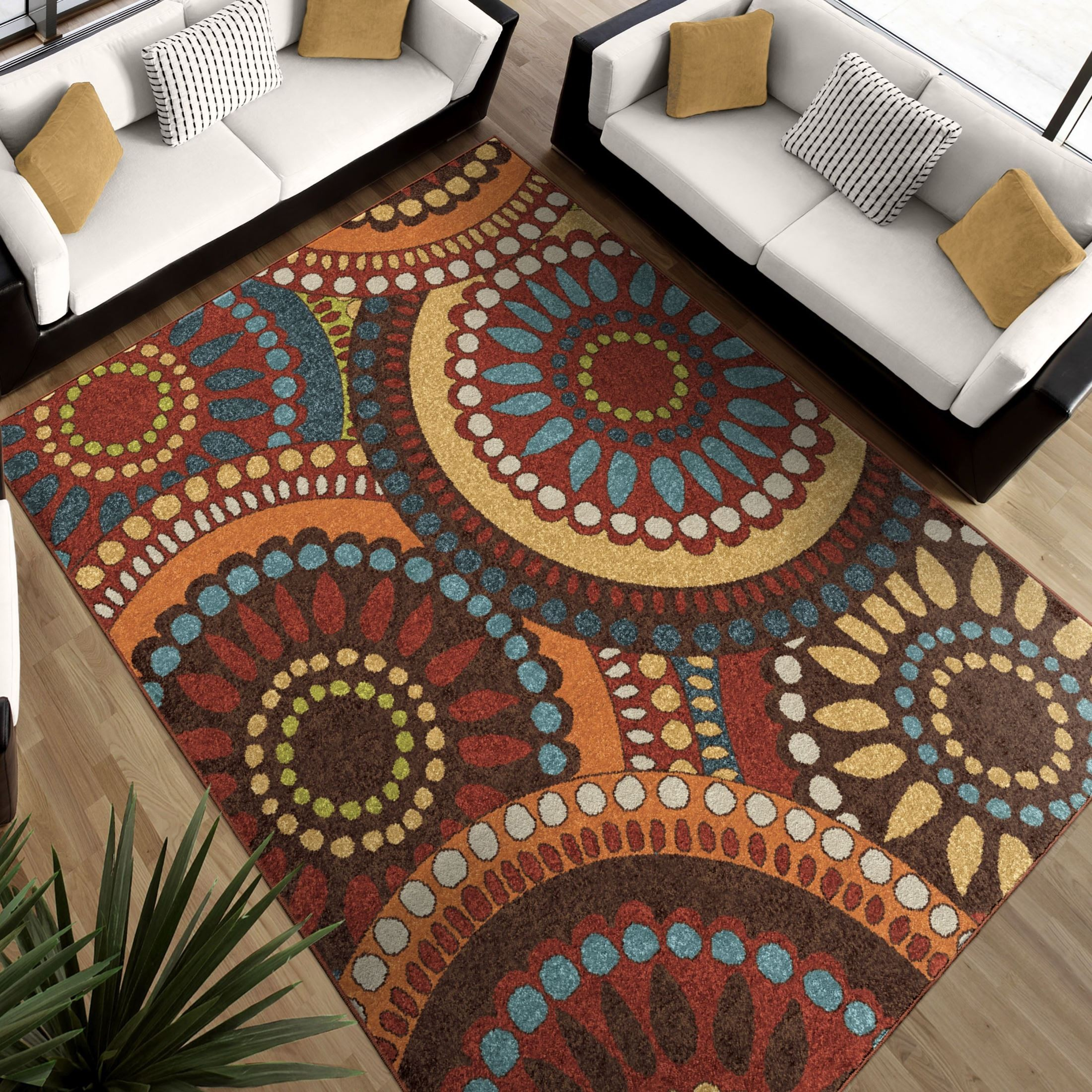 Merrifield Collage Multi Medium Rug From Orian 2321 5x8