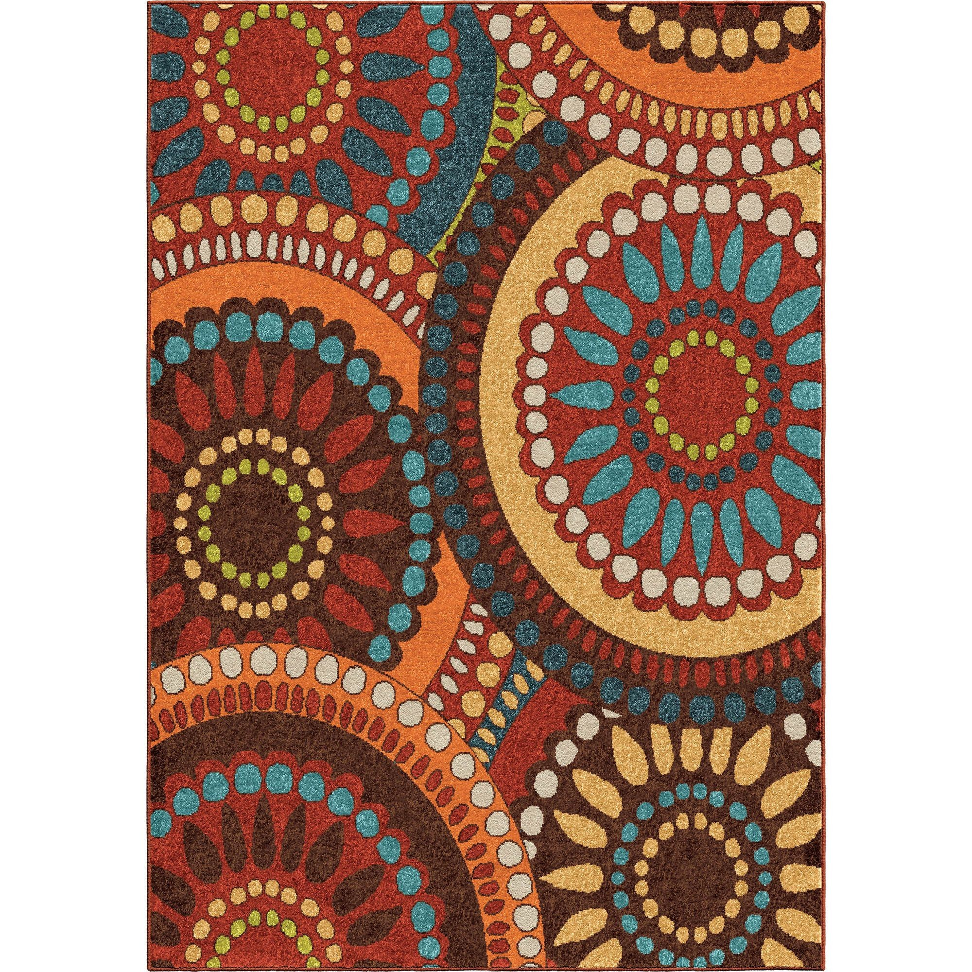 Merrifield Collage Multi Medium Rug From Orian 2321 5x8