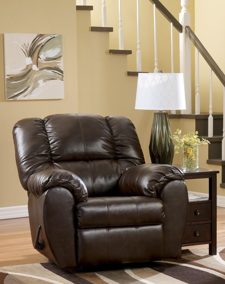 Dylan Durablend Espresso Rocker Recliner From Ashley 7060325 Coleman Furniture