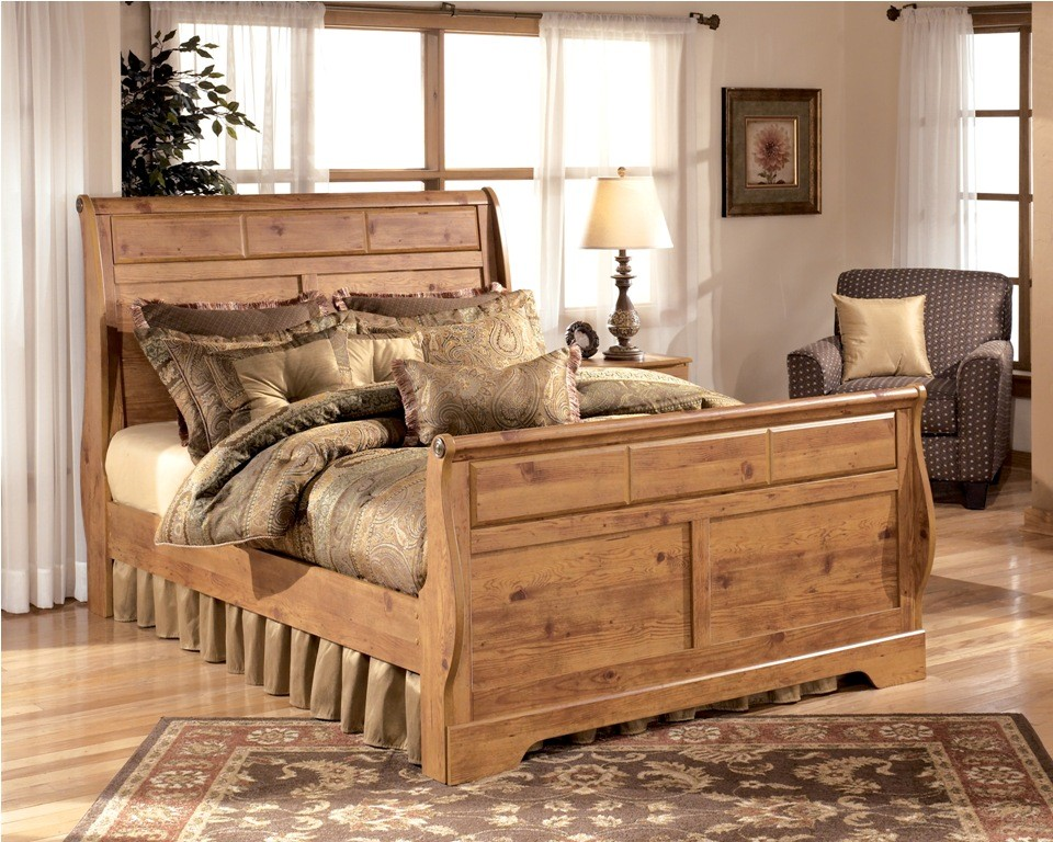 Bittersweet King Sleigh Bed From Ashley B219 78 76 97 Coleman Furniture