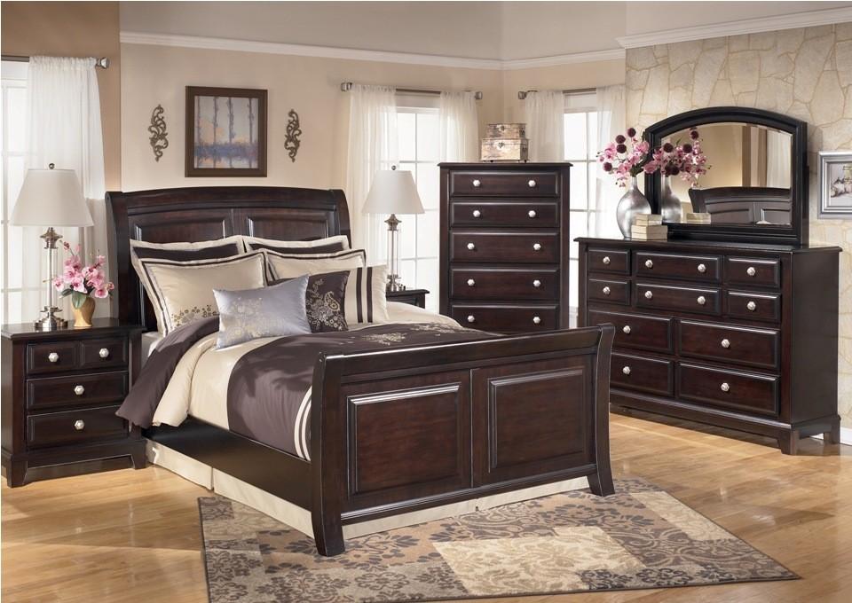 Ridgley Sleigh Bedroom Set From Ashley B520 Coleman
